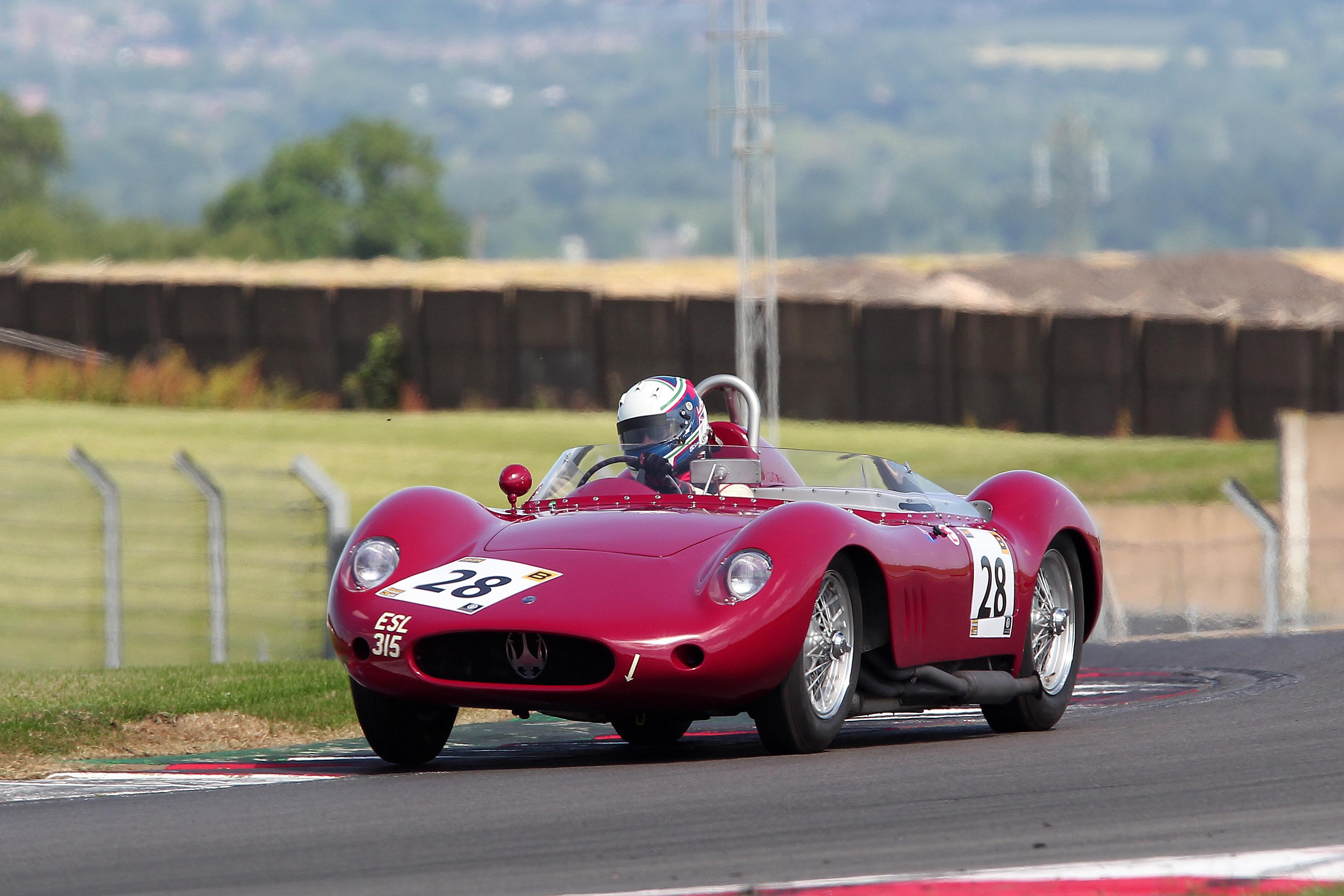Richard Wilson (Maserati 250S), Donington Park 2021