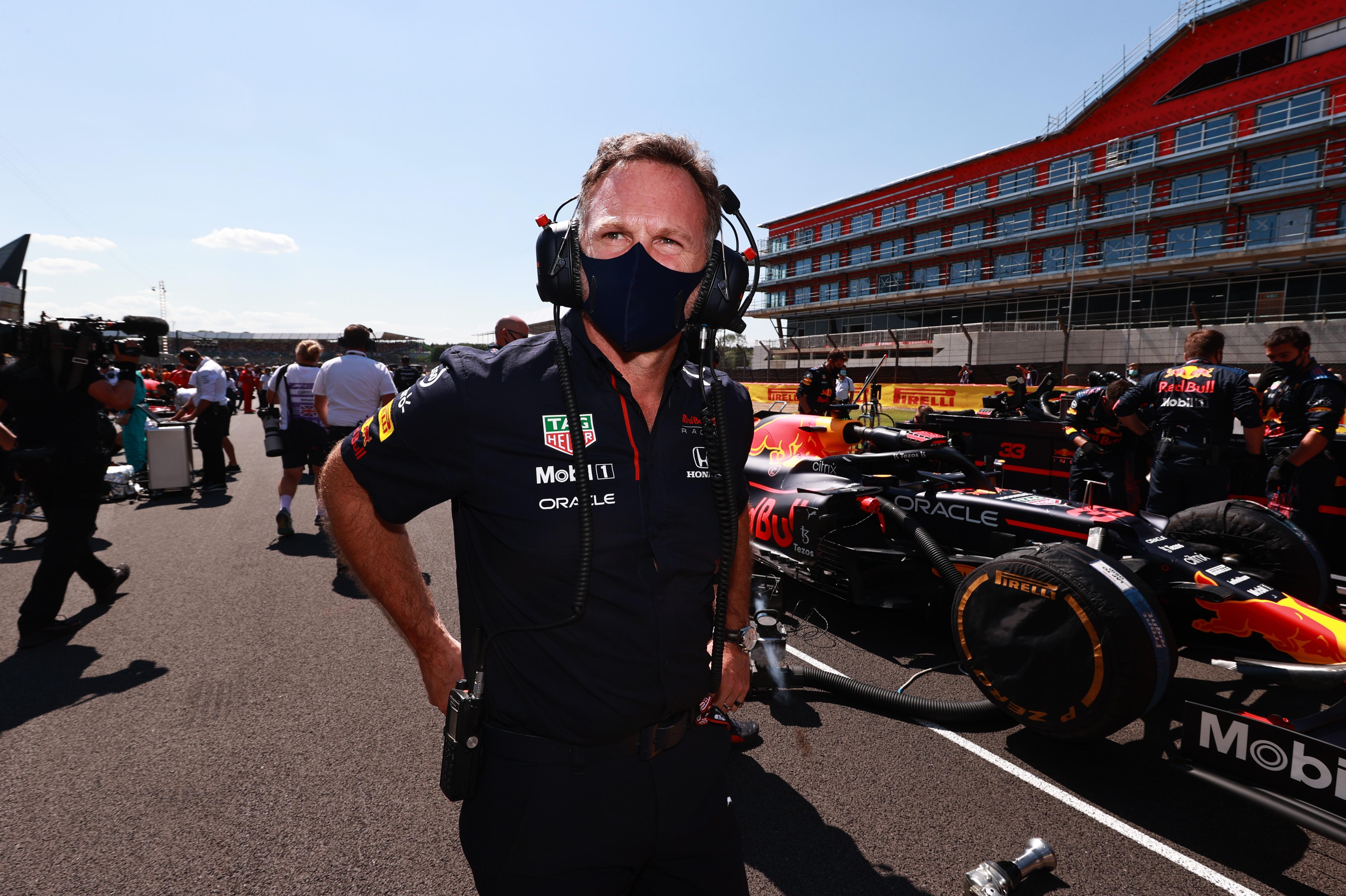 Christian Horner, British GP grid