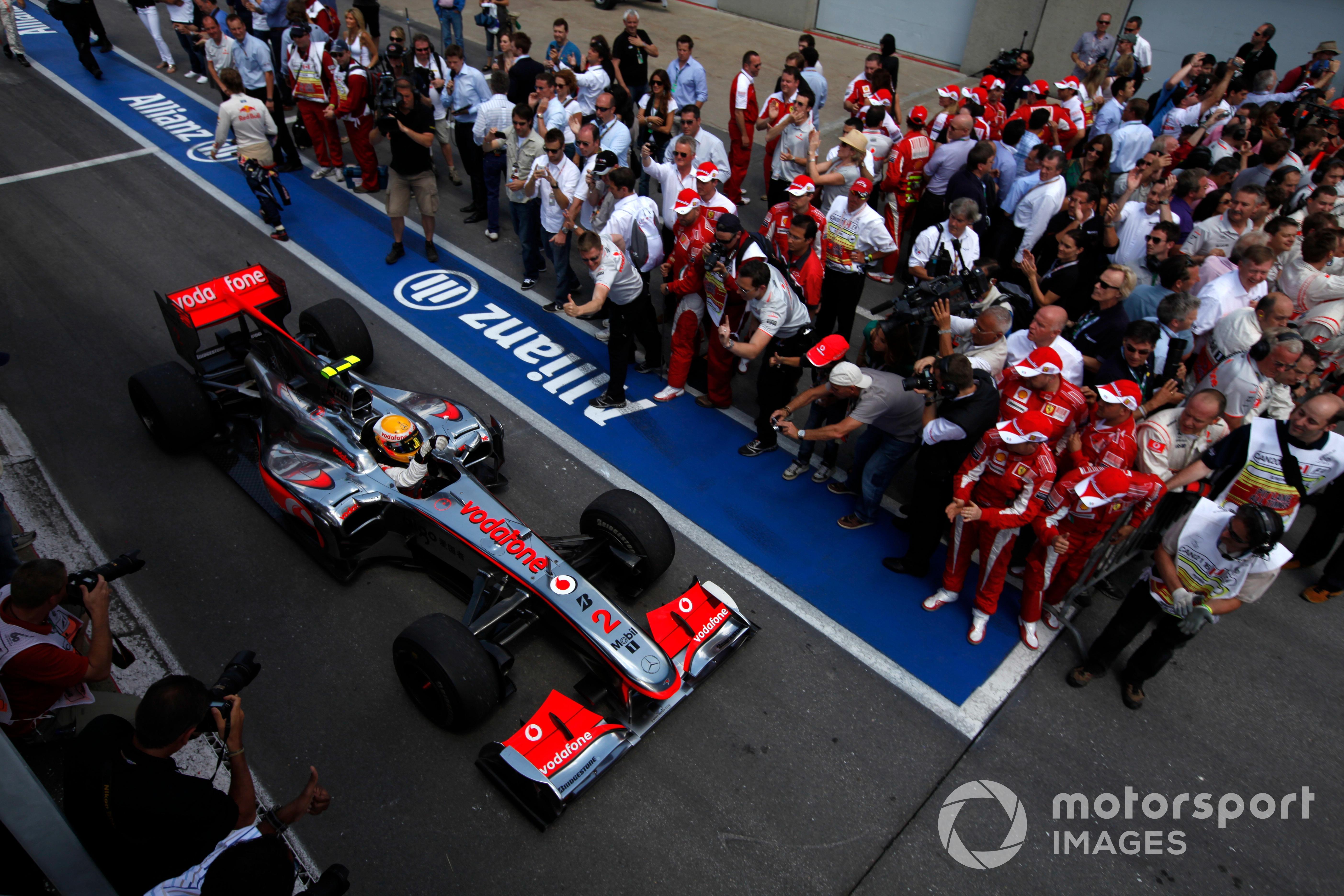 Lewis Hamilton, 2010 Canadian GP