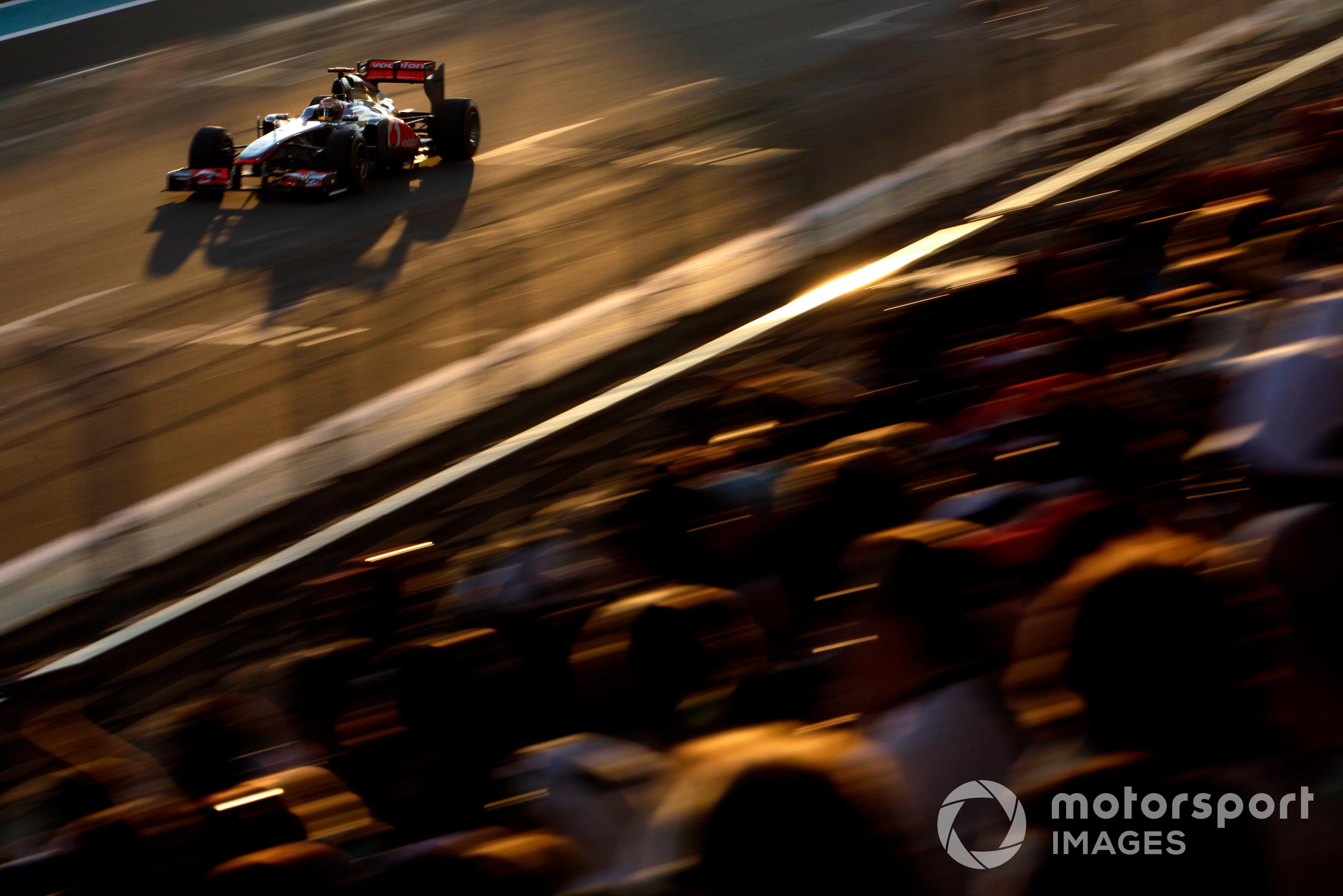 Lewis Hamilton, 2011 Abu Dhabi GP