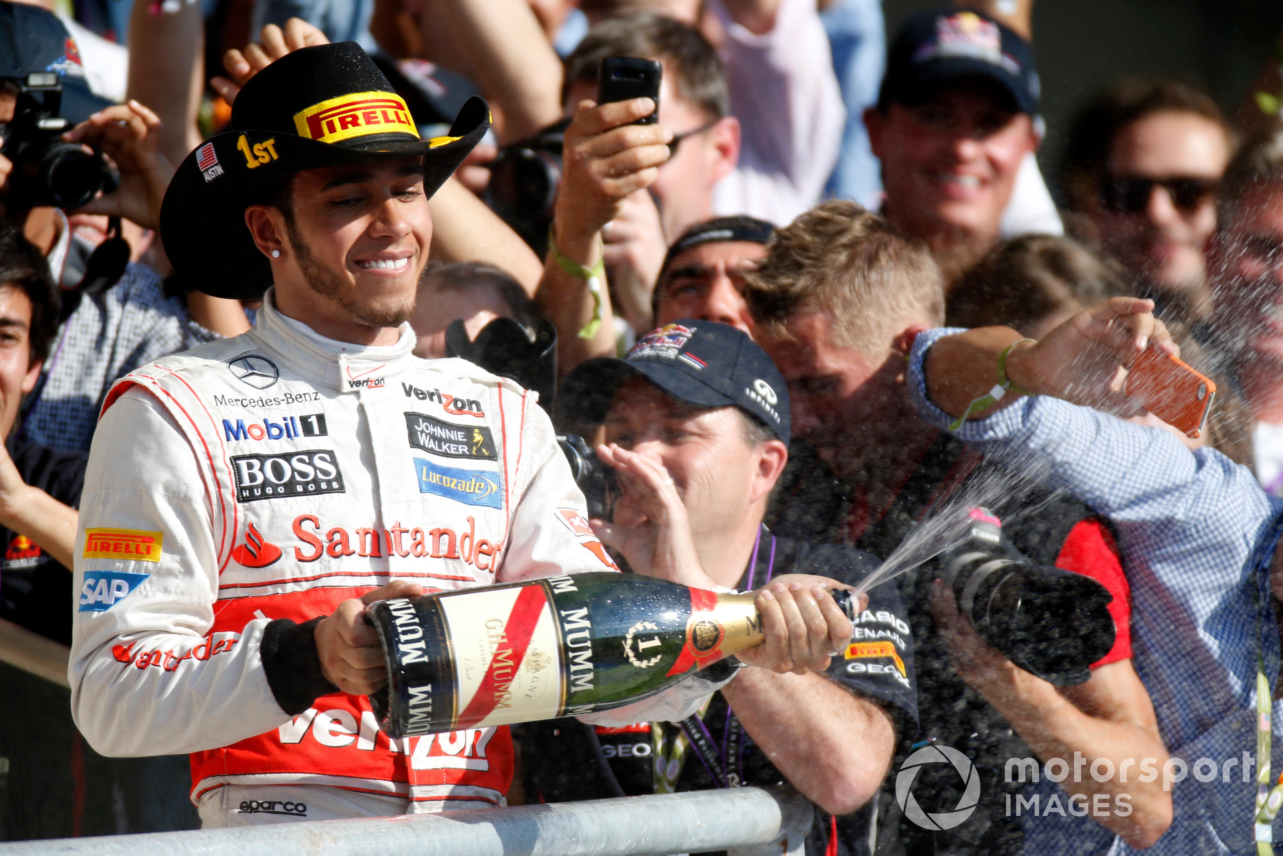 Lewis Hamilton, 2012 United States GP