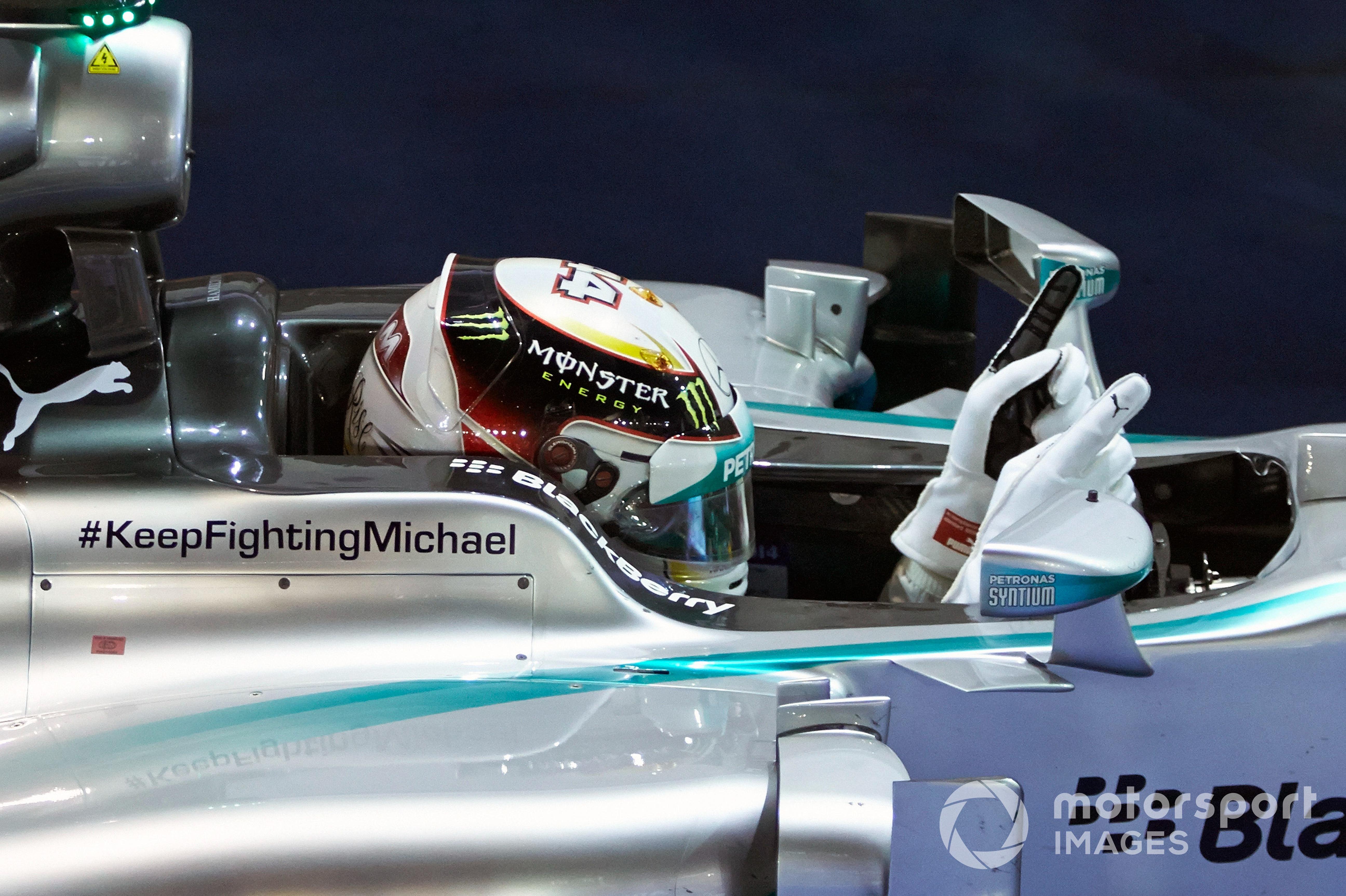 Lewis Hamilton, 2014 Singapore GP