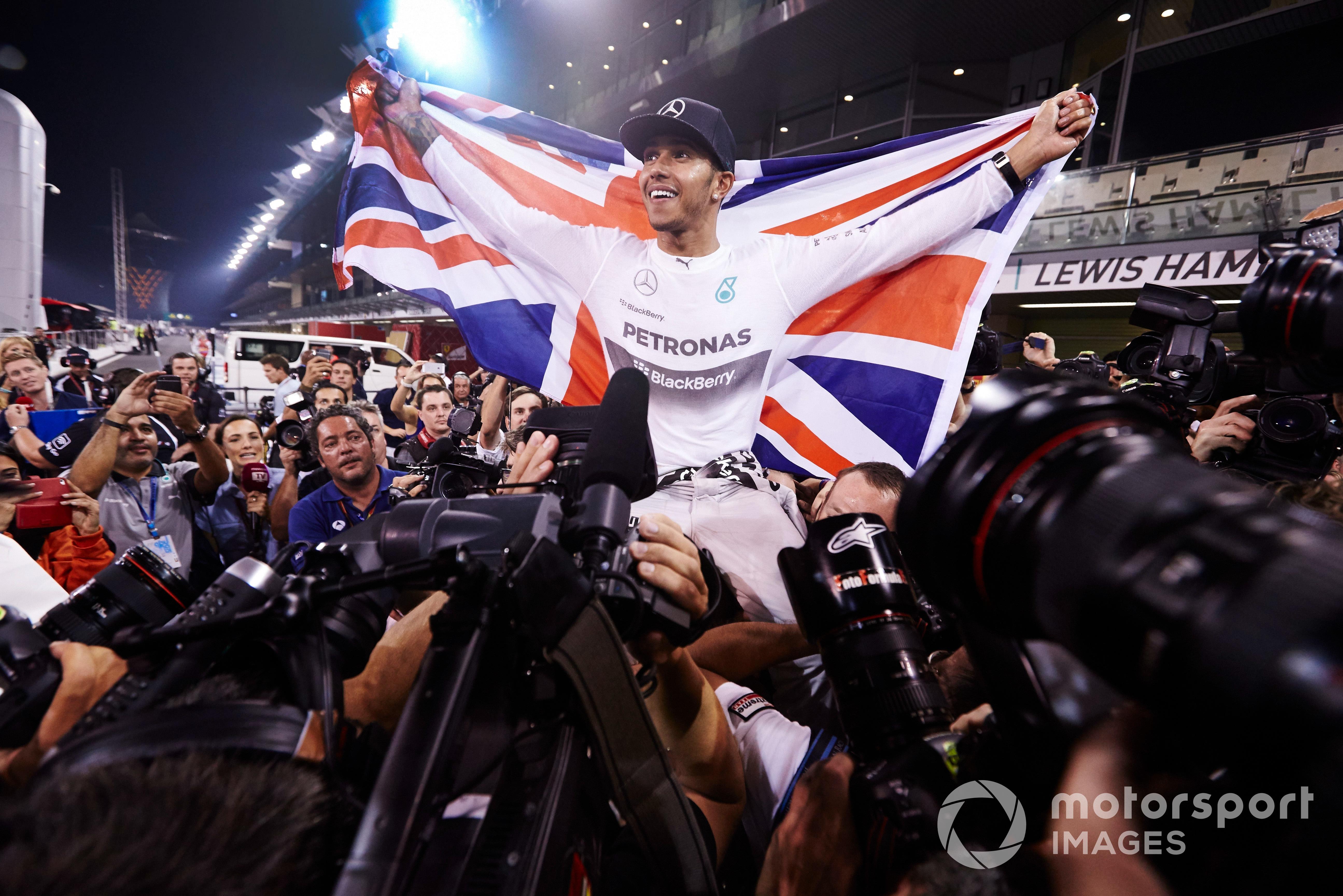 Lewis Hamilton, 2014 Abu Dhabi GP