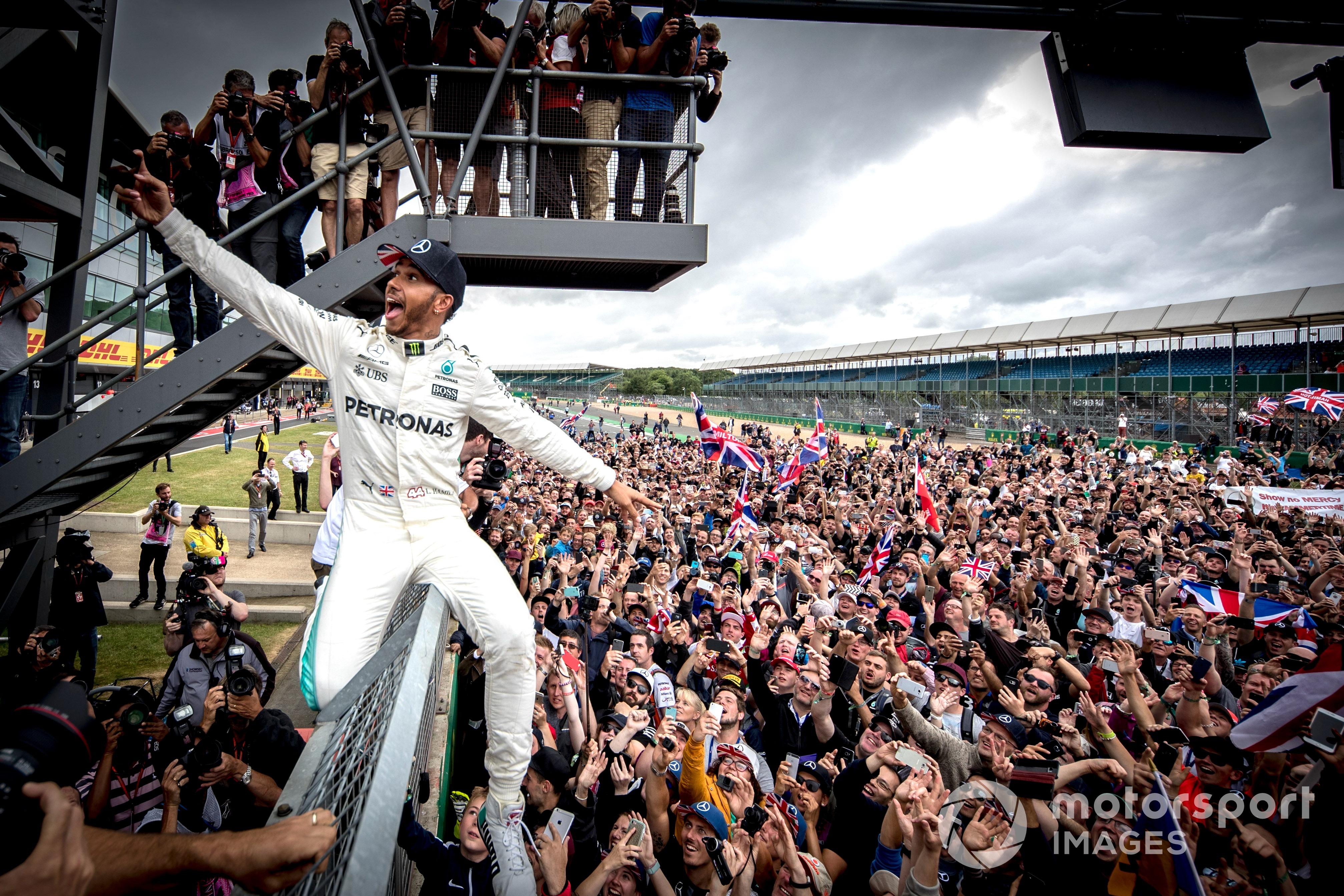 Lewis Hamilton, 2017 British GP
