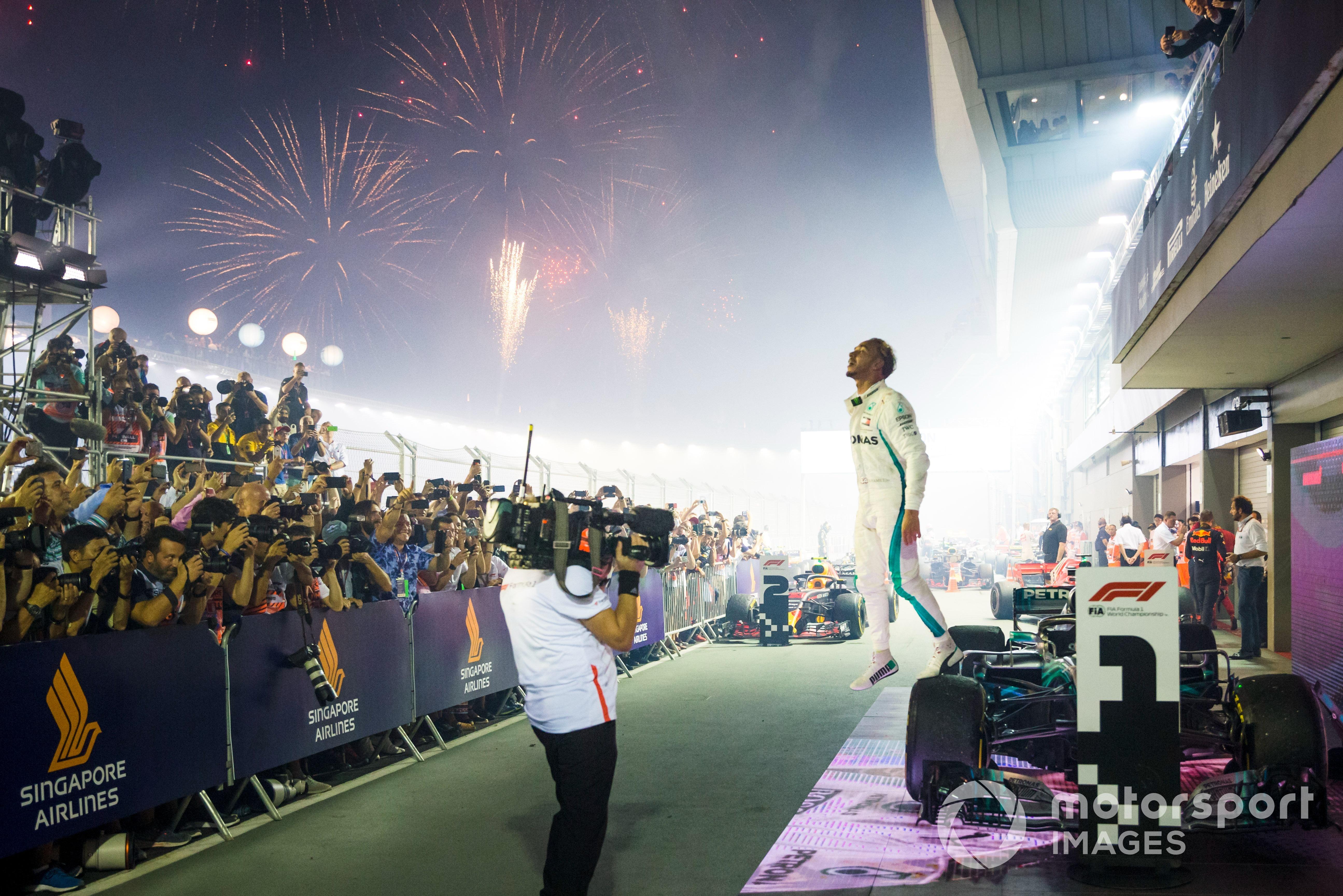 Lewis Hamilton 2018 Singapore GP