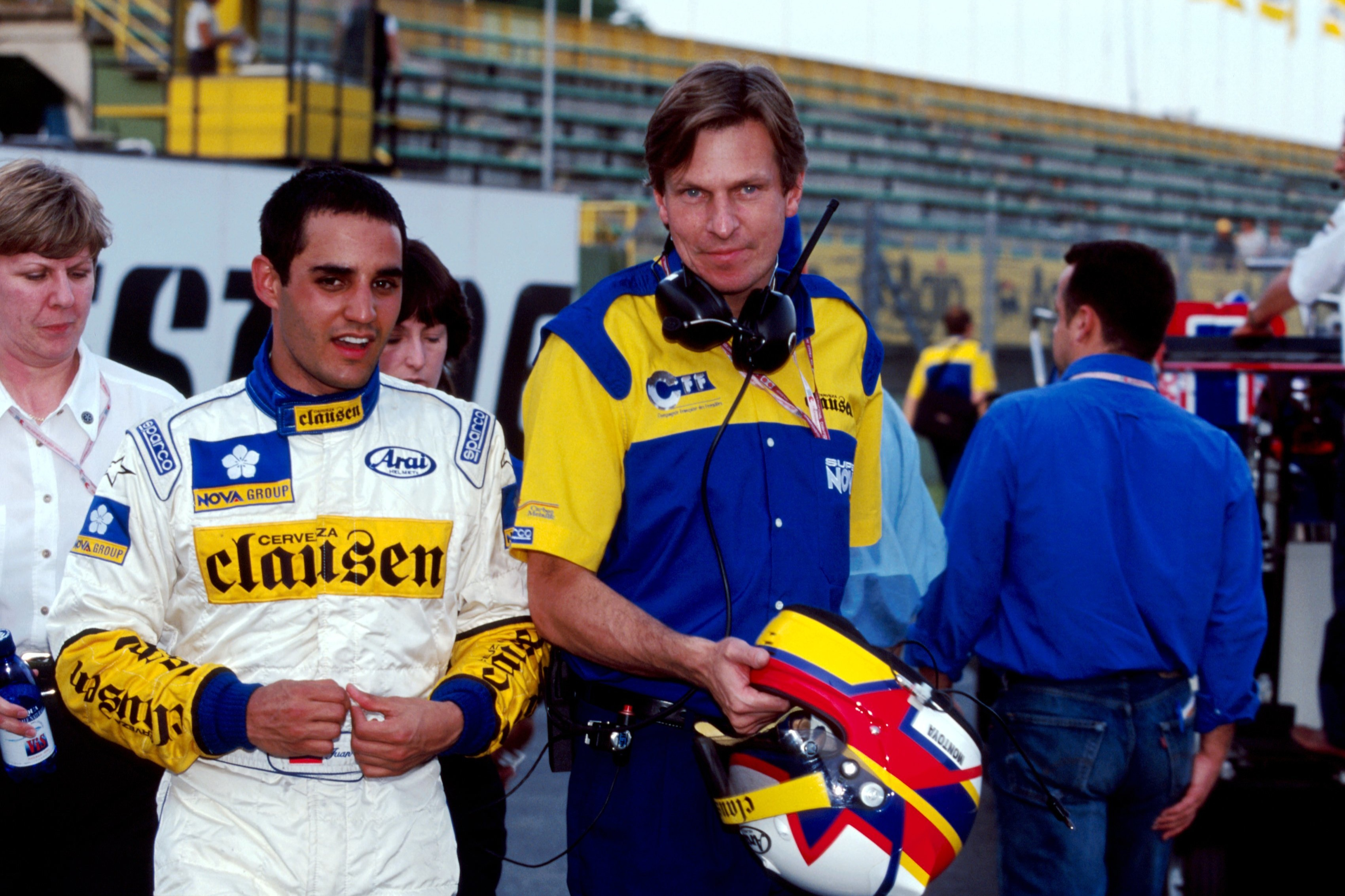 1998 F3000 champion Montoya is the best-known of Sears' management stable