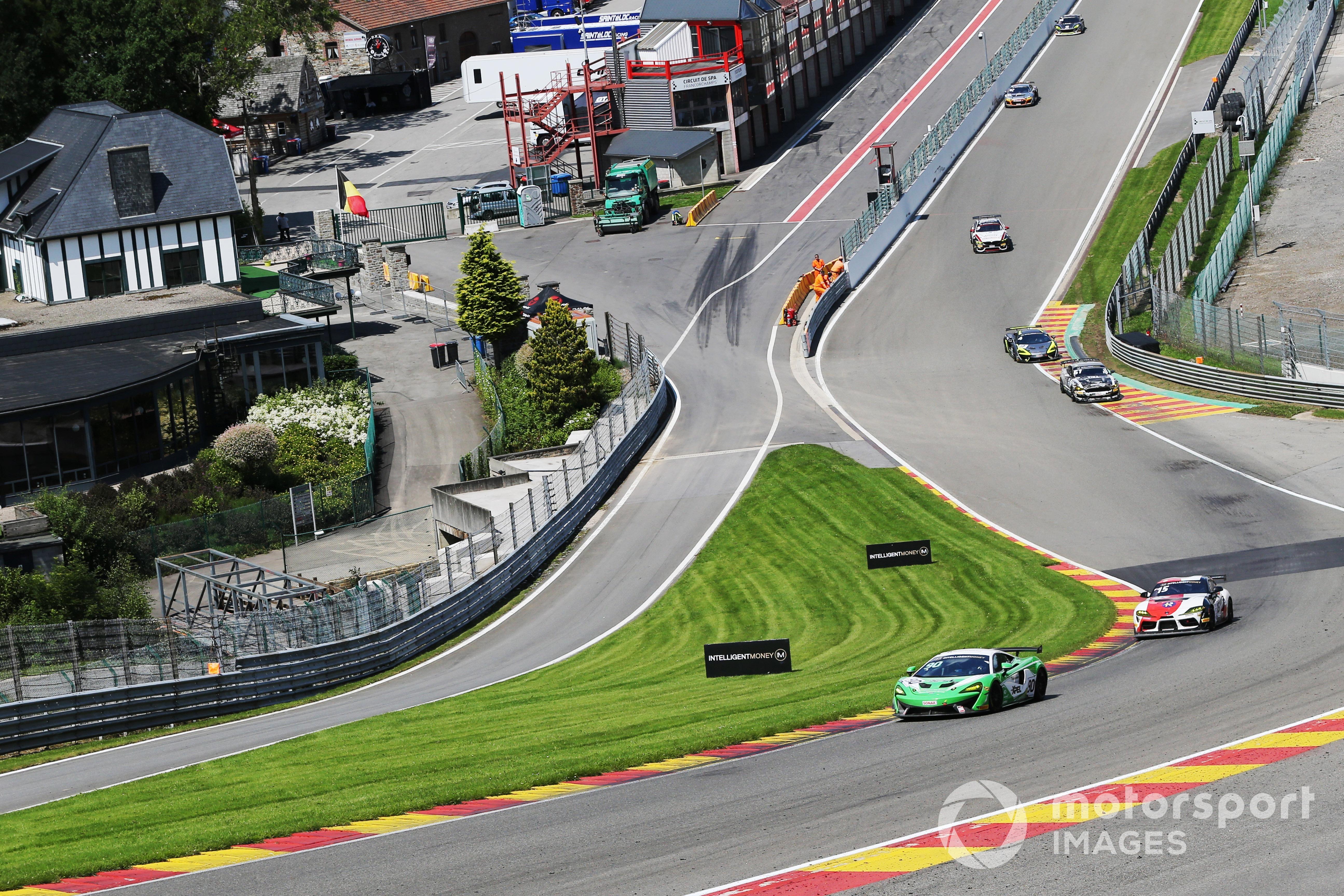 Ashley Marshall/Jack Brown (McLaren 570S) British GT, Spa 2021