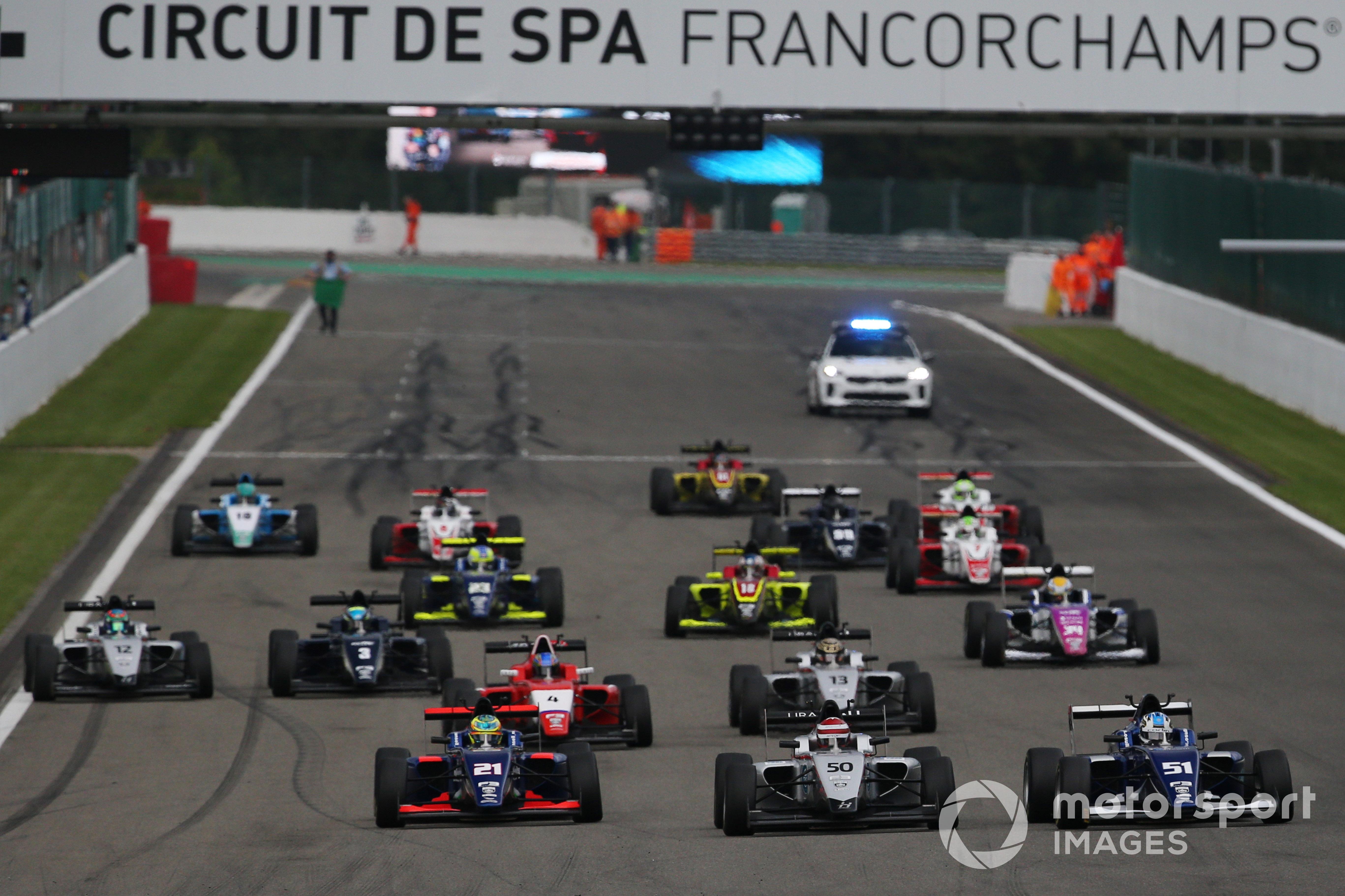 British F3, Spa 2021
