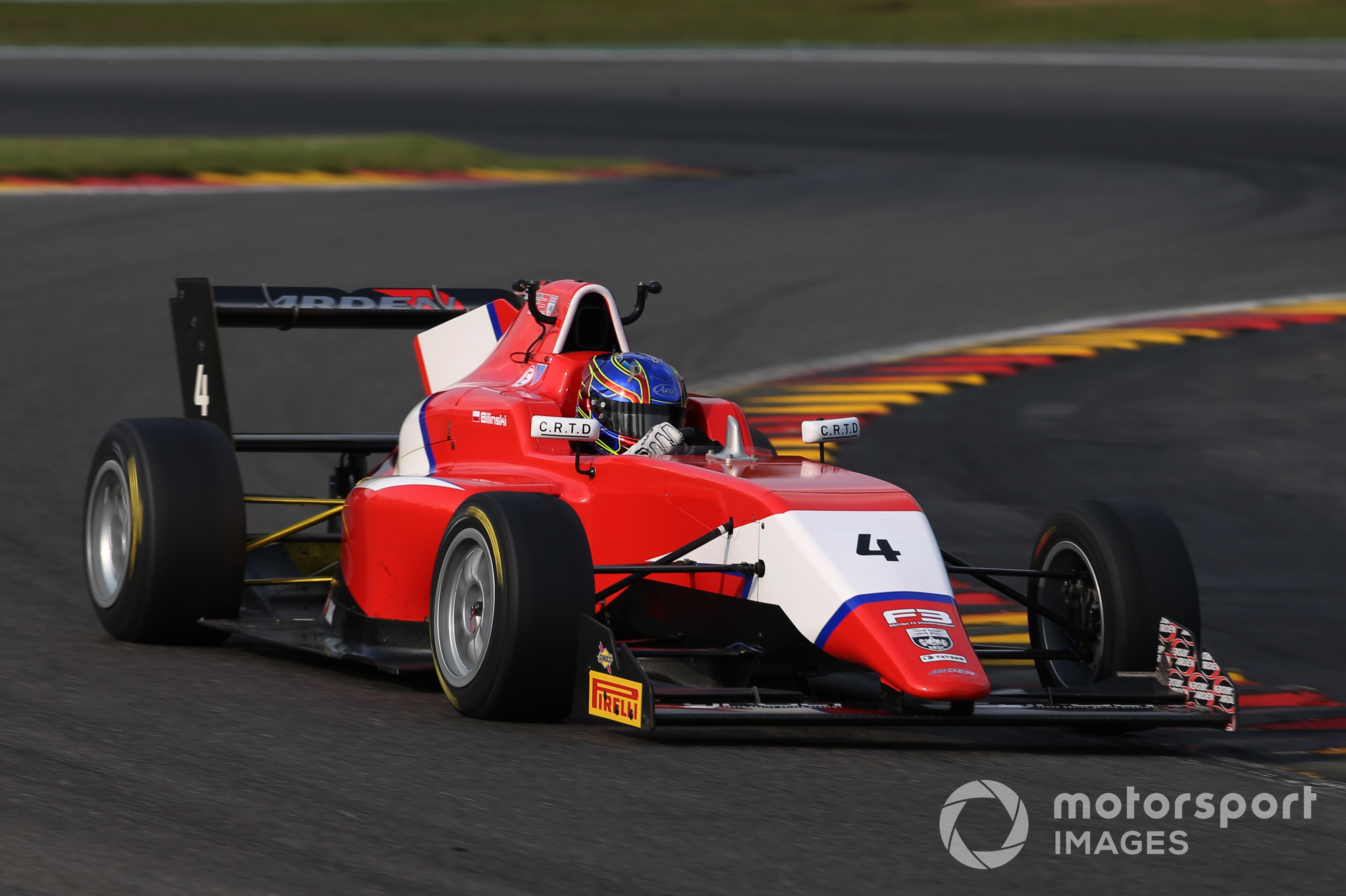Roman Bilinski, British F3, Spa 2021