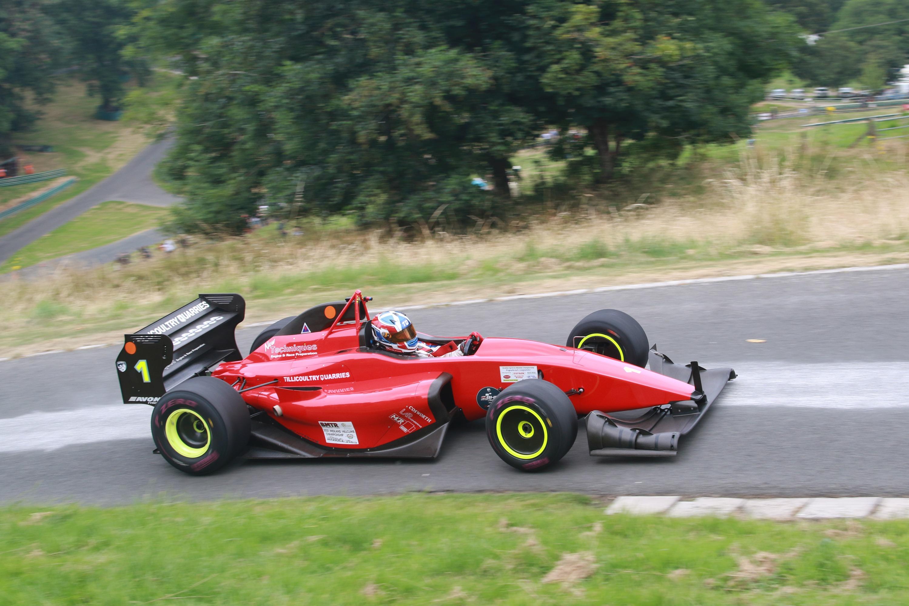 Wallace Menzies (3.3 Gould-Cosworth GR59M), Prescott British Hillclimb 2021