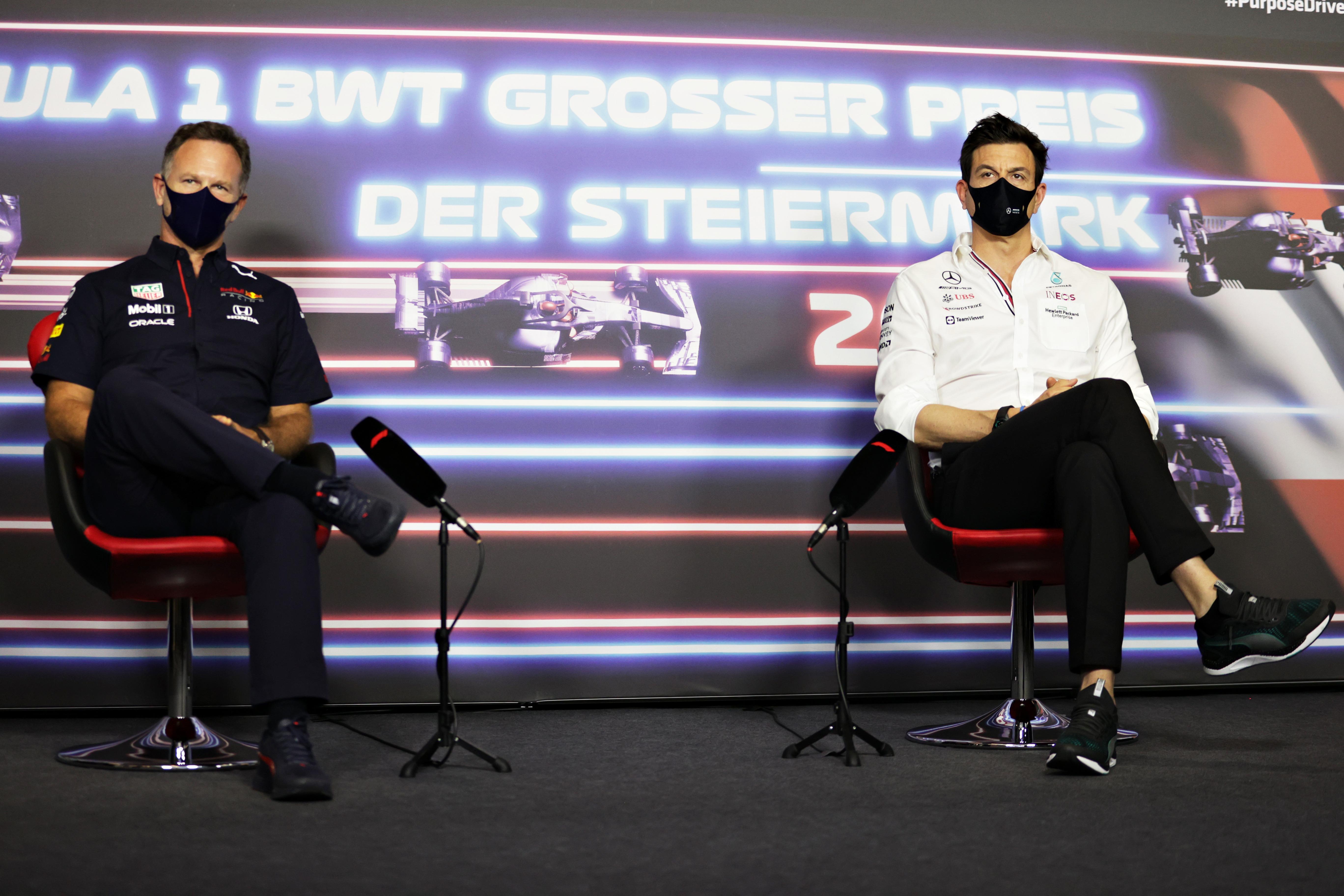 Christian Horner, Red Bull, Toto Wolff, Mercedes
