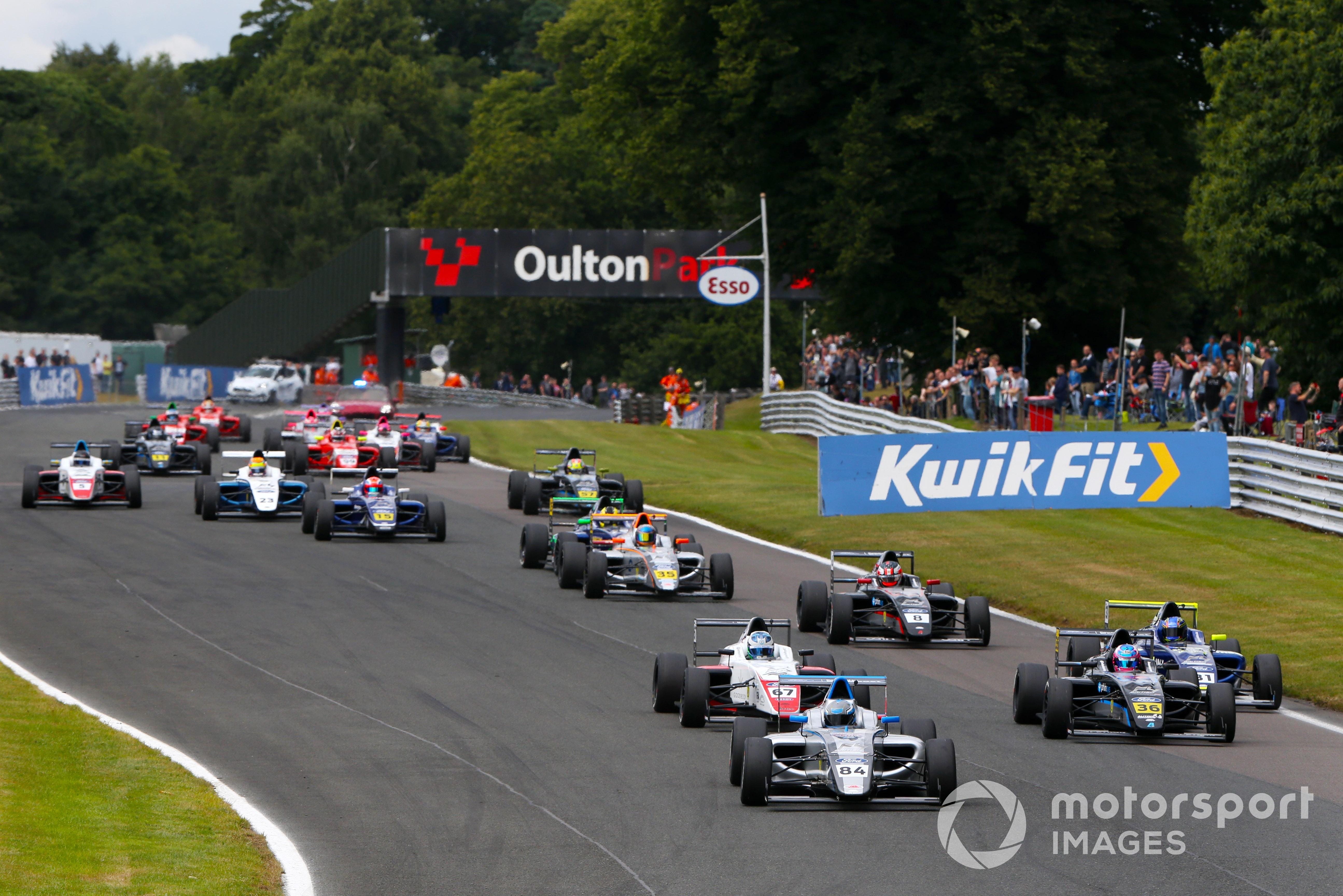 Joseph Loake, British F4, Oulton Park 2021
