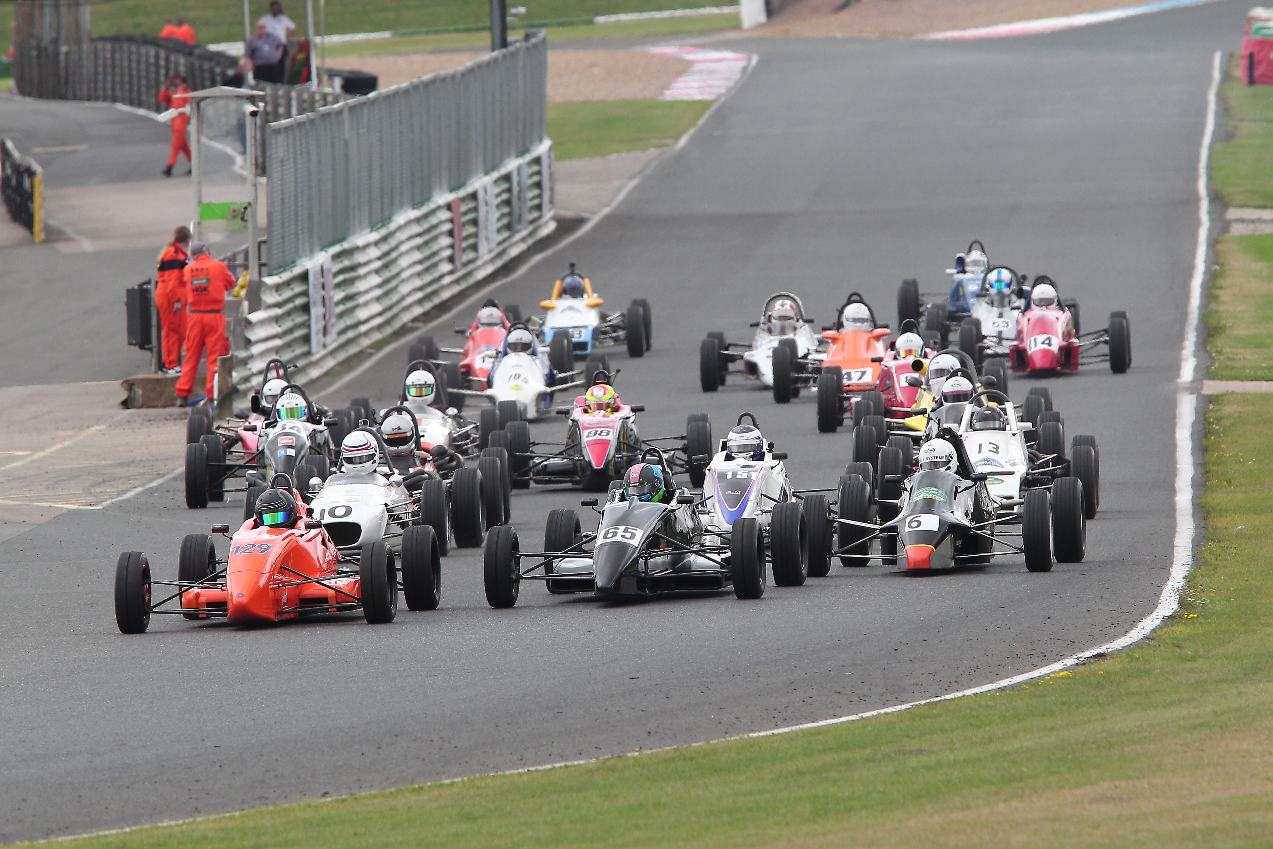 Northern and Super Classic FF1600, Mallory Park 2021