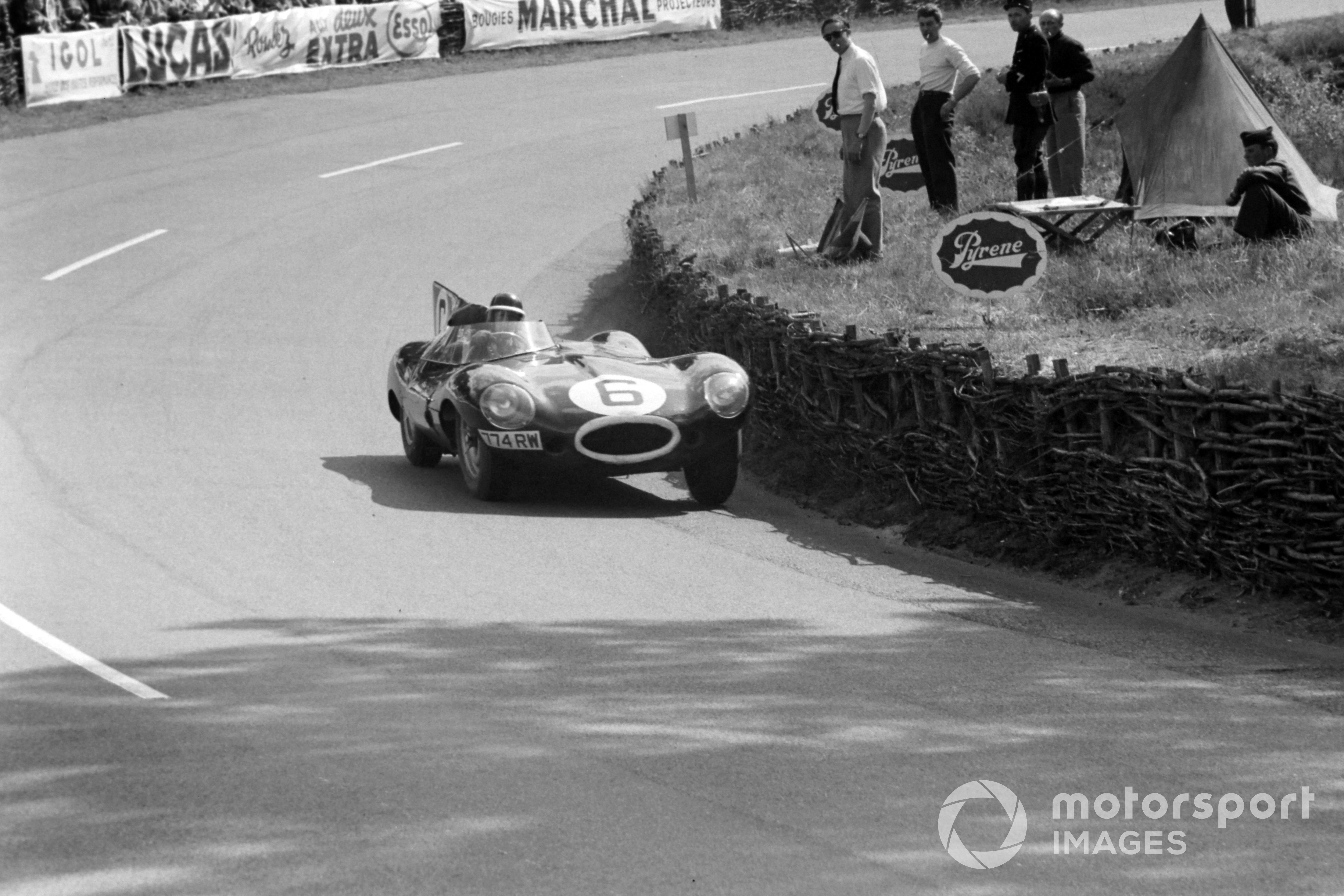 Mike Hawthorn / Ivor Bueb, Jaguar Cars, Jaguar D-type