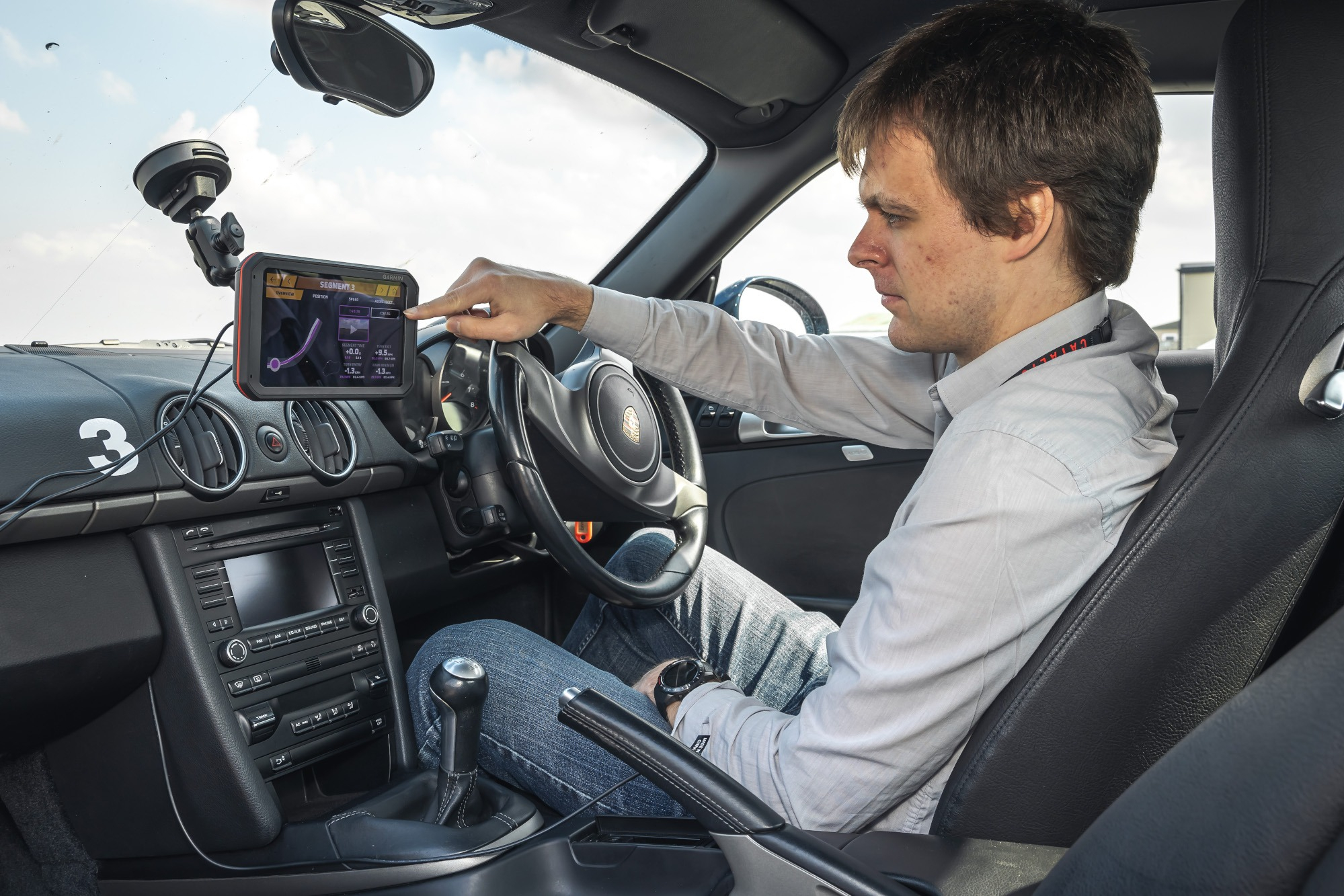 New Garmin tool helps drivers to quickly work out where they can improve