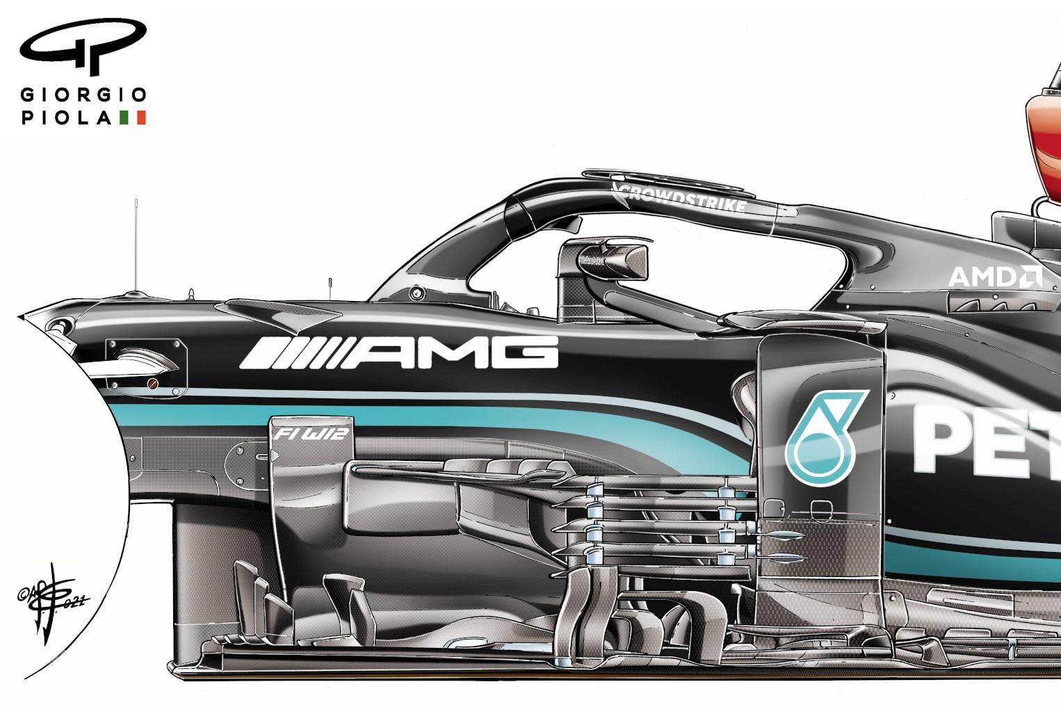 Mercedes bargeboard detail
