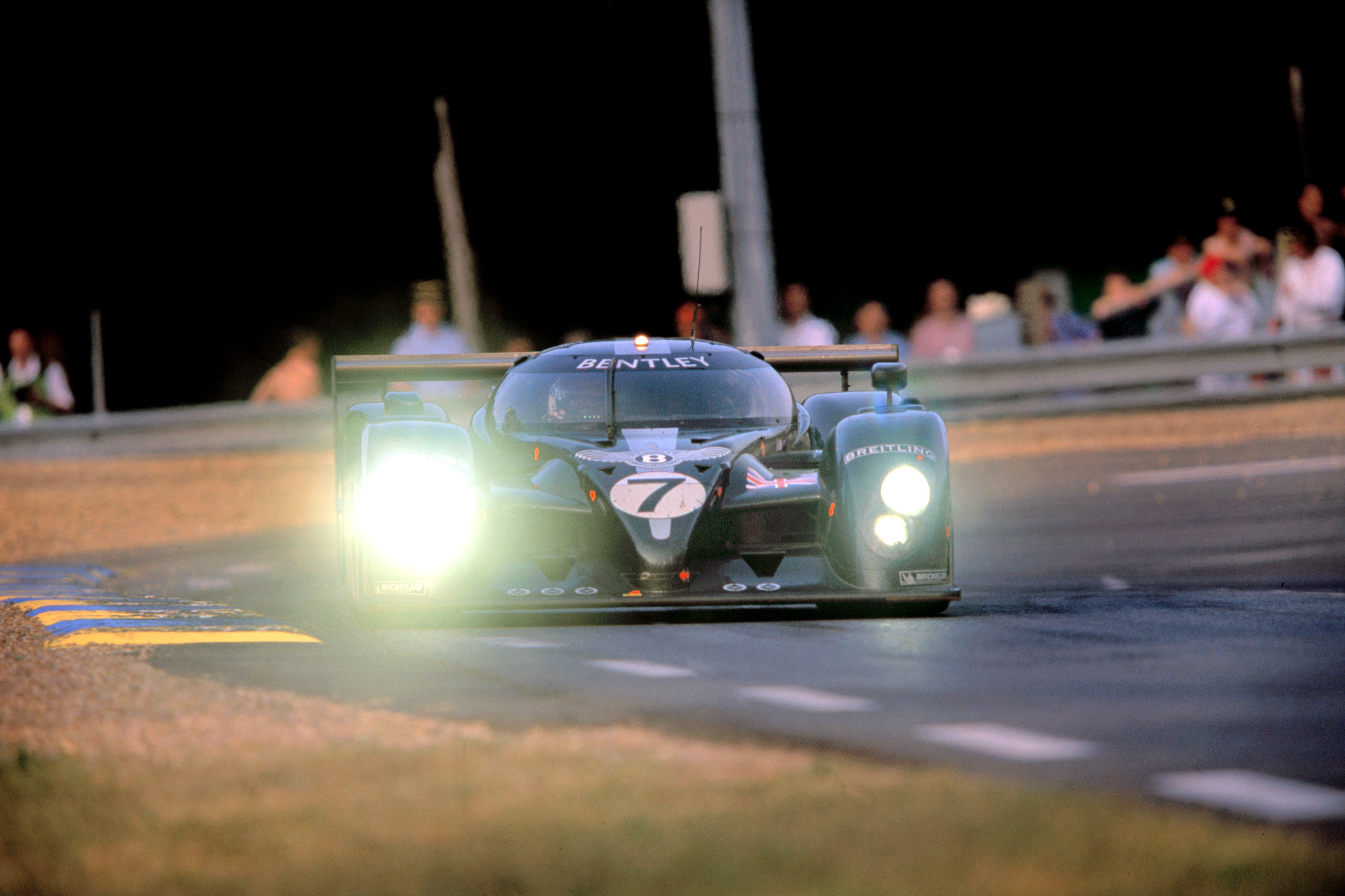 Bentley's Speed Eight was the only car to beat the Audi R8 at Le Mans, prevailing in 2003 with Kristensen, Capello and Smith