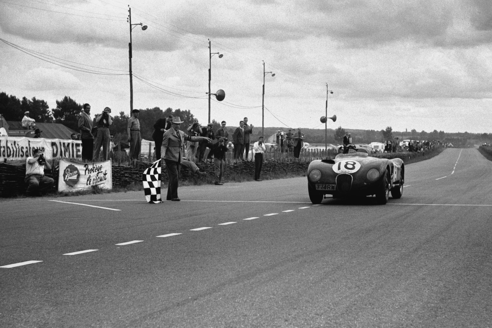 Rolt and Hamilton headed Jaguar 1-2-4 in 1953 as C-Types crushed the opposition