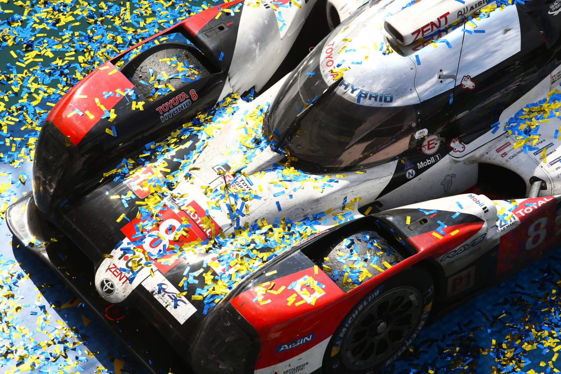 The #8 Toyota is unbeaten in the past three iterations of Le Mans, with Buemi and Nakajima joined by Alonso and subsequently Hartley