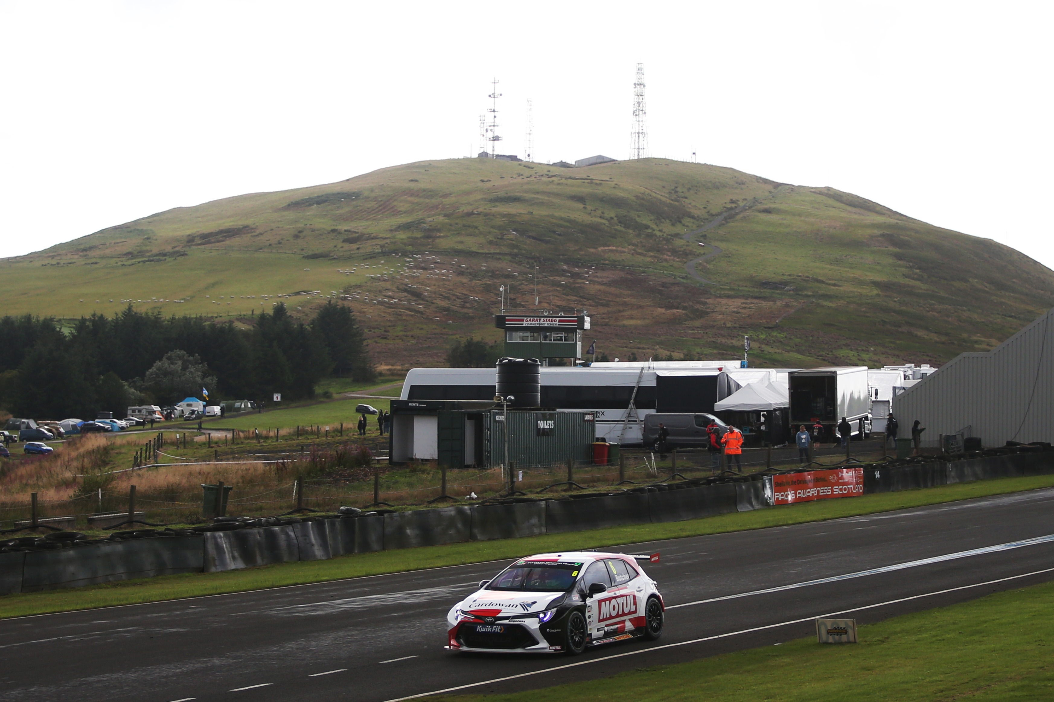 Butcher clocked the fourth-fastest time in the Speedworks Toyota