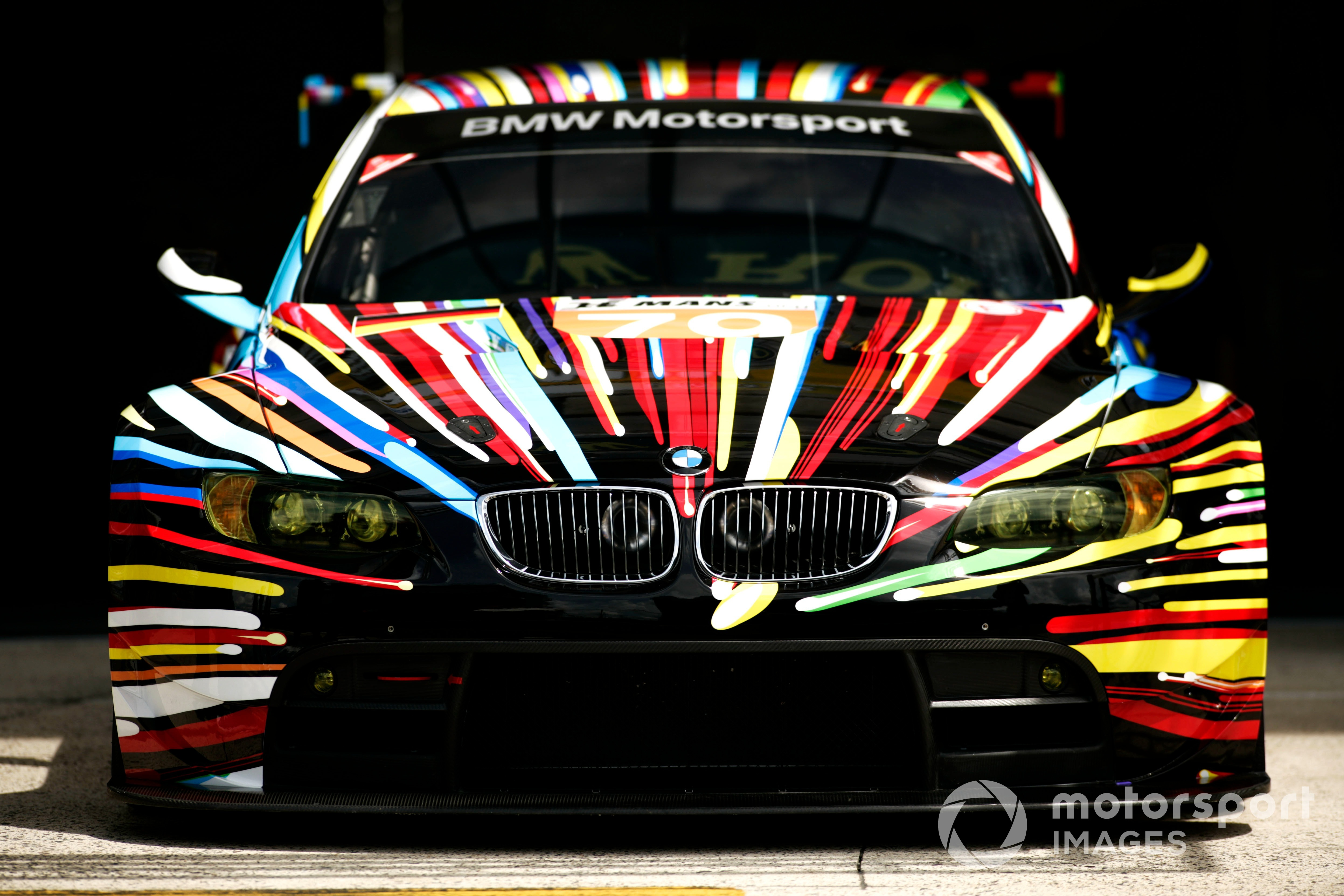 The car of Andy Priaulx / Dirk Muller / Dirk Werner, BMW Motorsport, #79 BMW M3 at the 2010 Le Mans 24 Hours