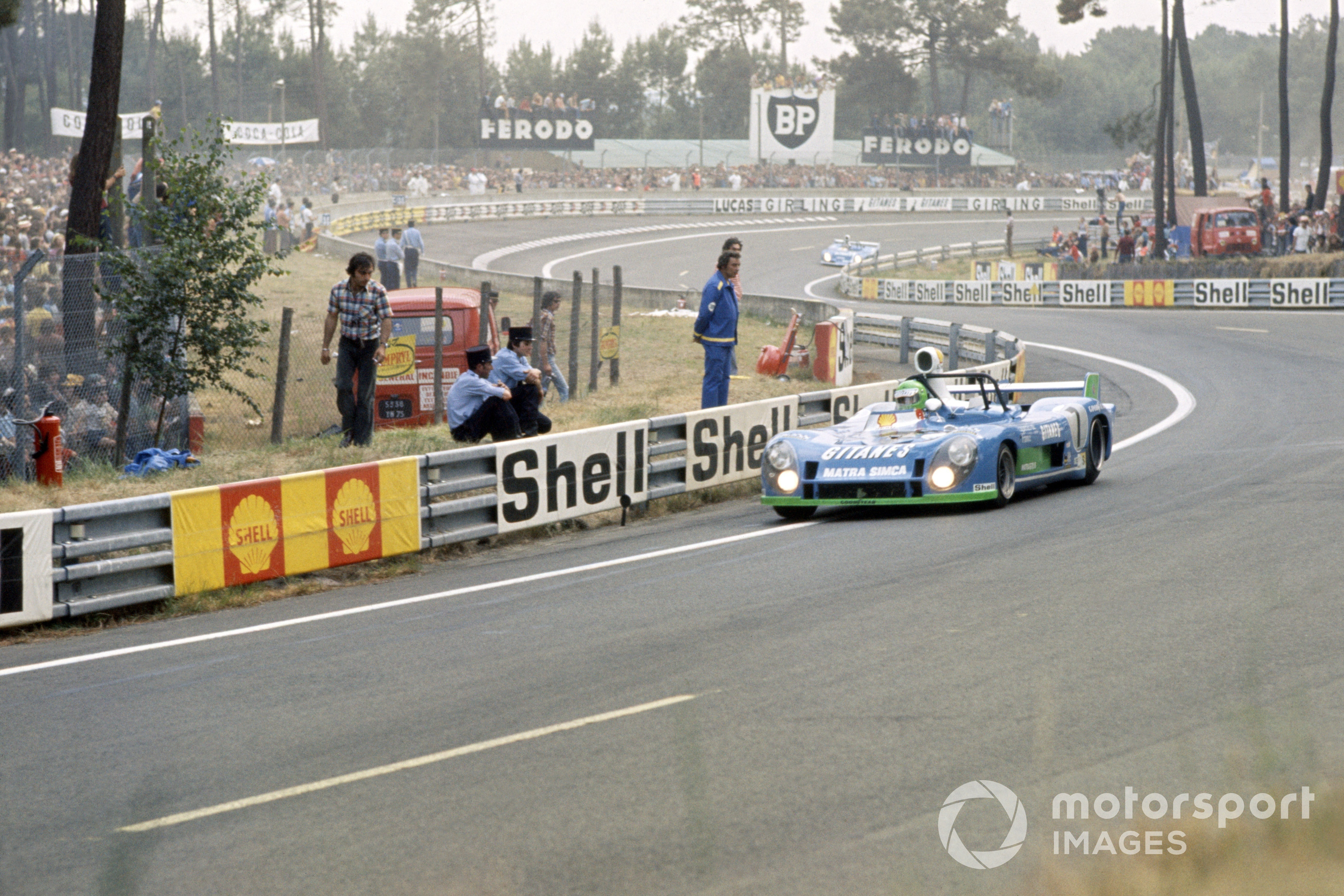 Henri Pescarolo/Gerard Larrousse, Matra-Simca MS670B, 1974 Le Mans 24 Hours