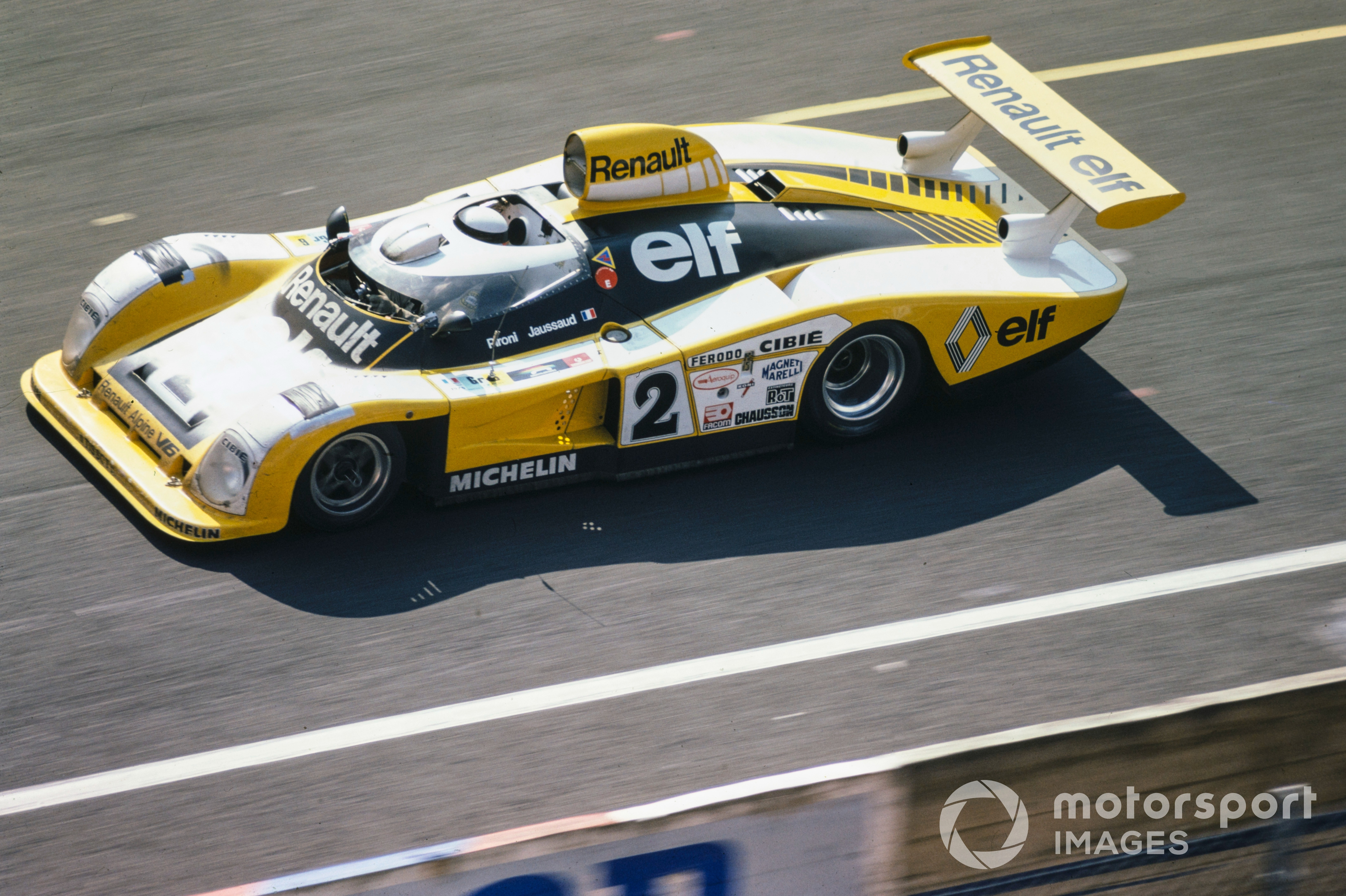 Didier Pironi / Jean-Pierre Jaussaud, Renault Sport, Renault-Alpine A442B at the 1978 Le Mans 24 Hours