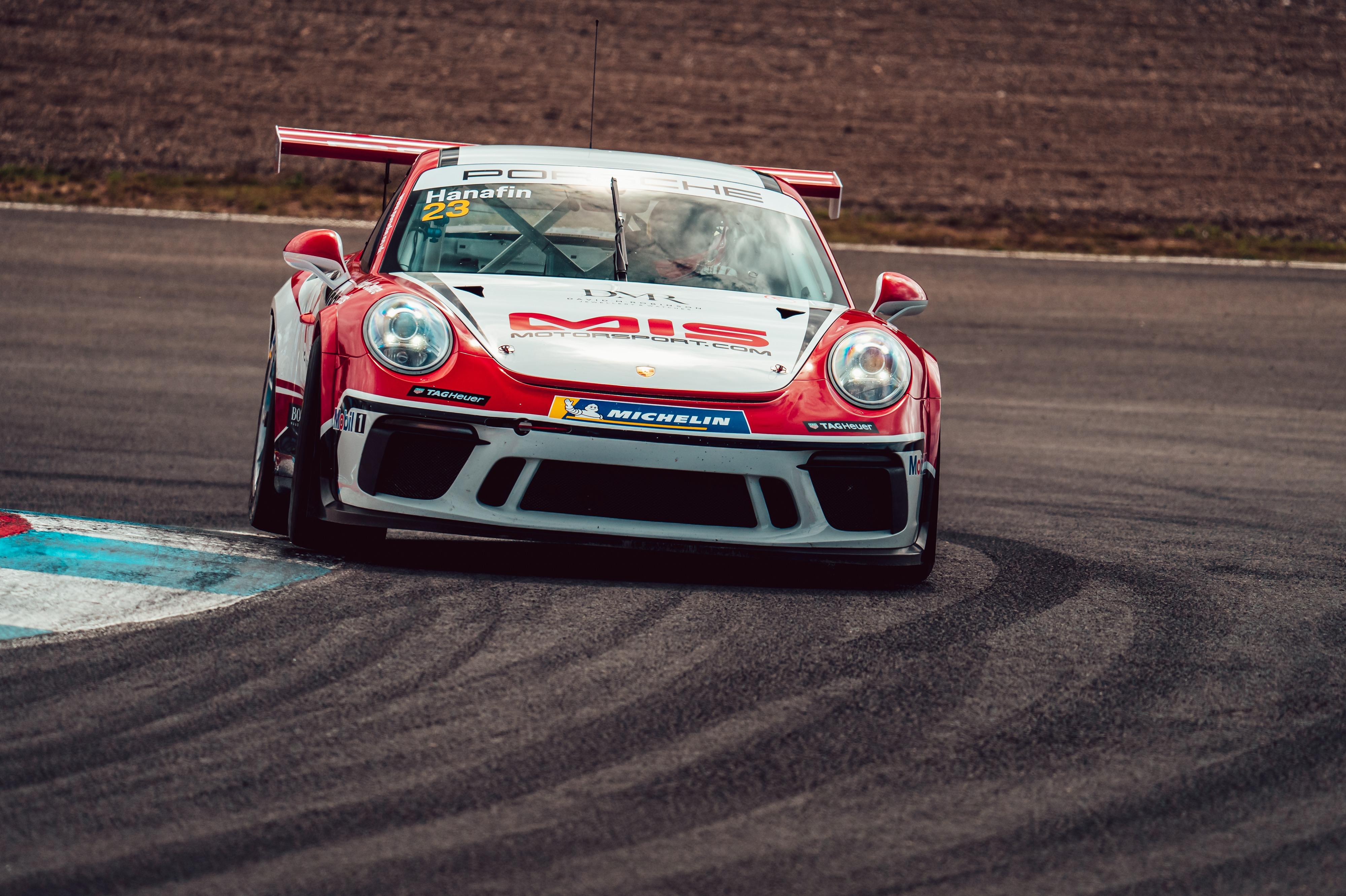 Lorcan Hanafin, Porsche Carrera Cup GB, Knockhill 2021