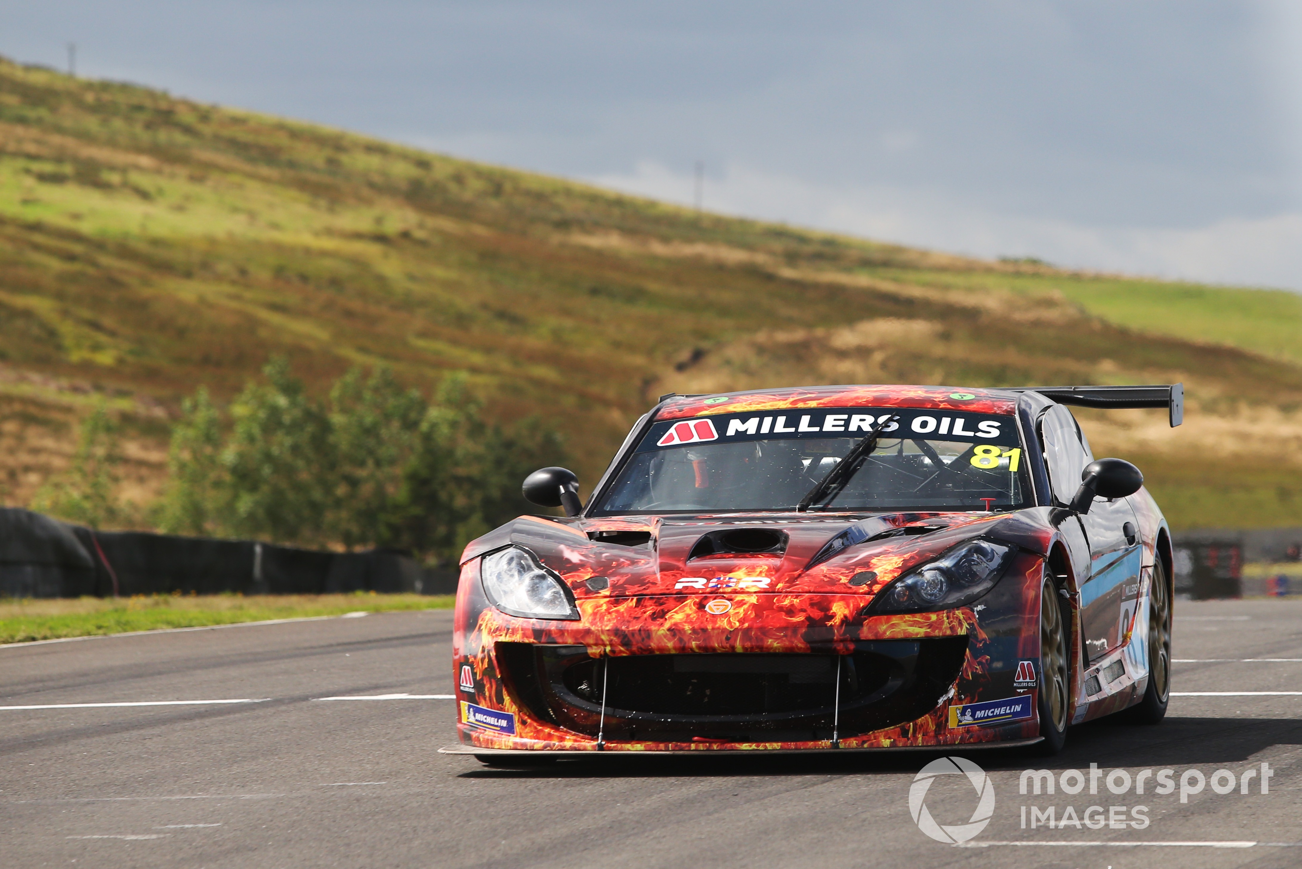 Tom Hibbert, Ginetta GT4 Supercup, Knockhill 2021