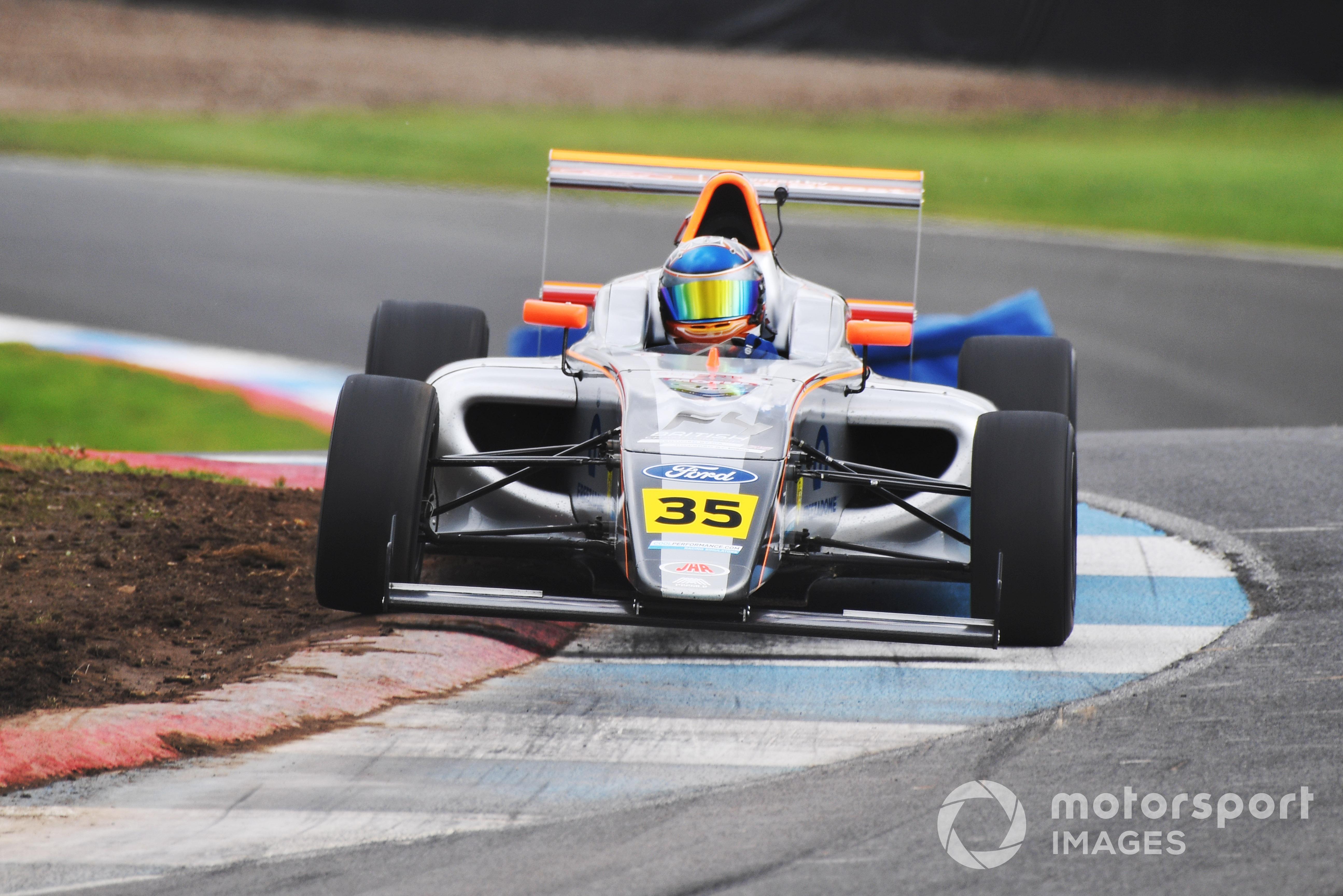 Matthew Rees, British F4, Knockhill 2021