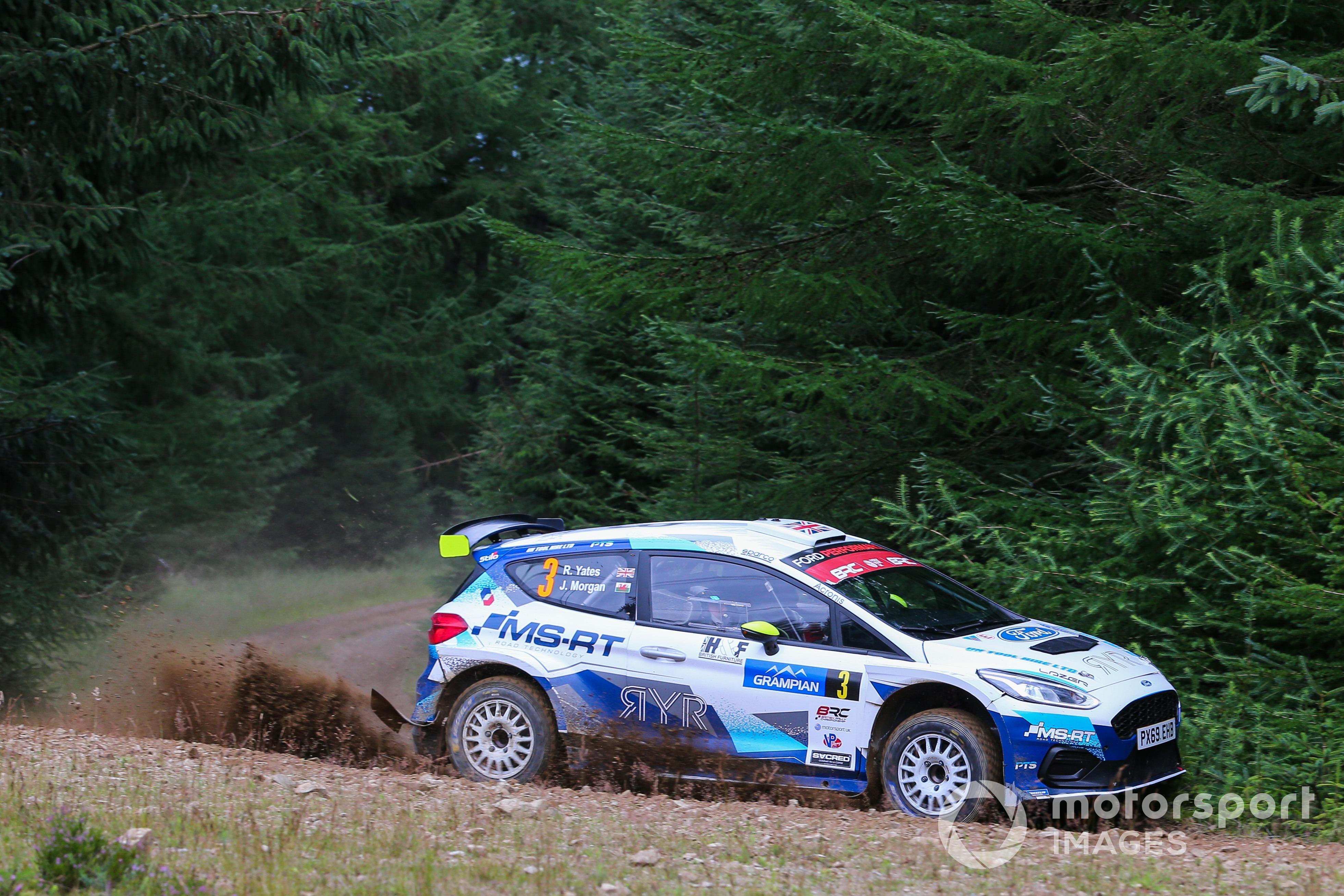 Rhys Yates/James Morgan (Ford Fiesta Rally2) Grampian Rally 2021