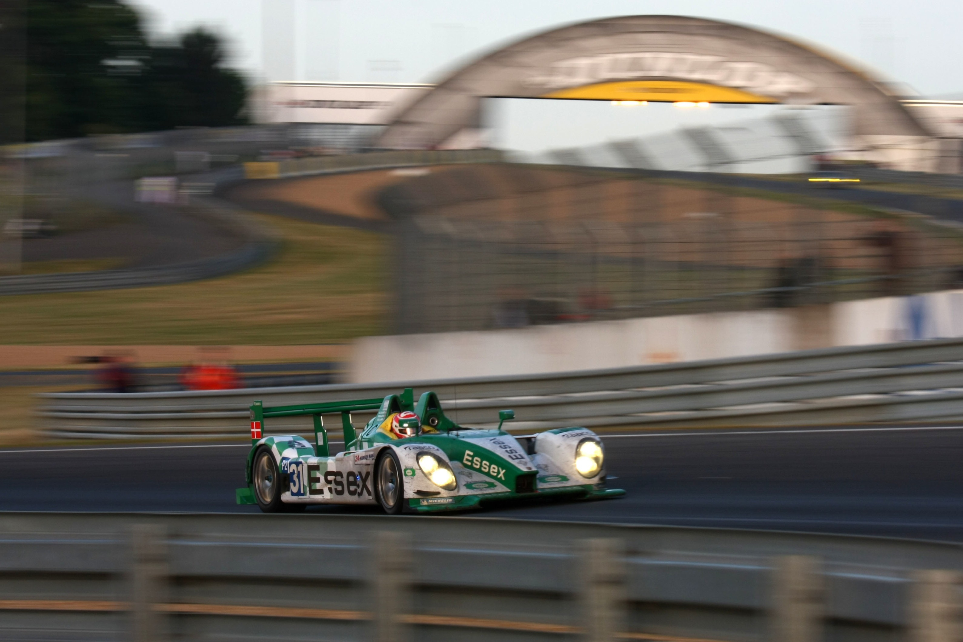Team Essex Porsche took second consecutive Le Mans LMP2 win in 2009 with Danes Casper Elgaard and Kristian Poulsen joined by French ace Emmanuel Collard