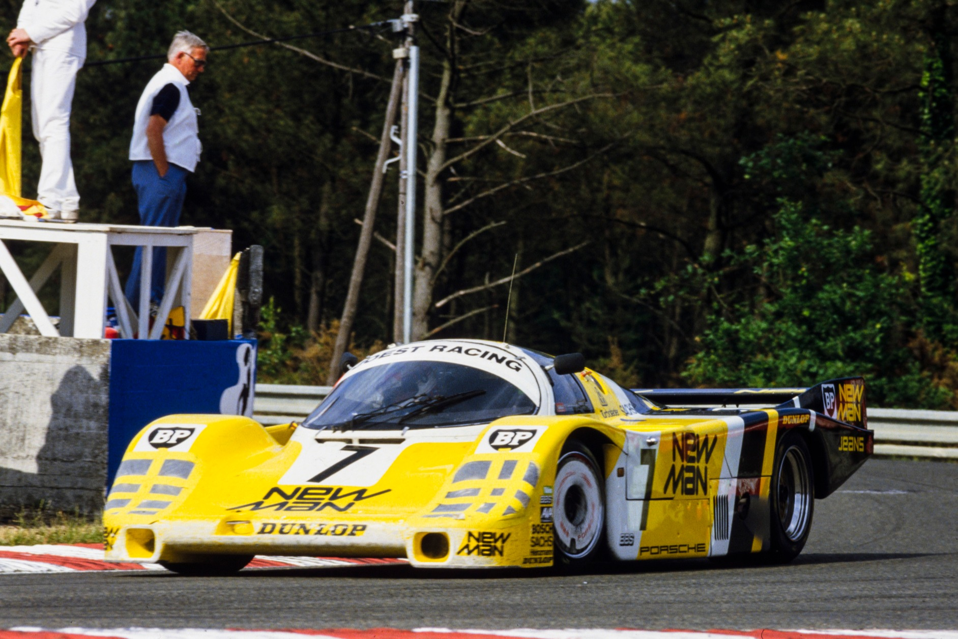 'Winter' drove minimal laps to claim victory in 1985 alongside team-mates Ludwig and Barilla in Joest 956