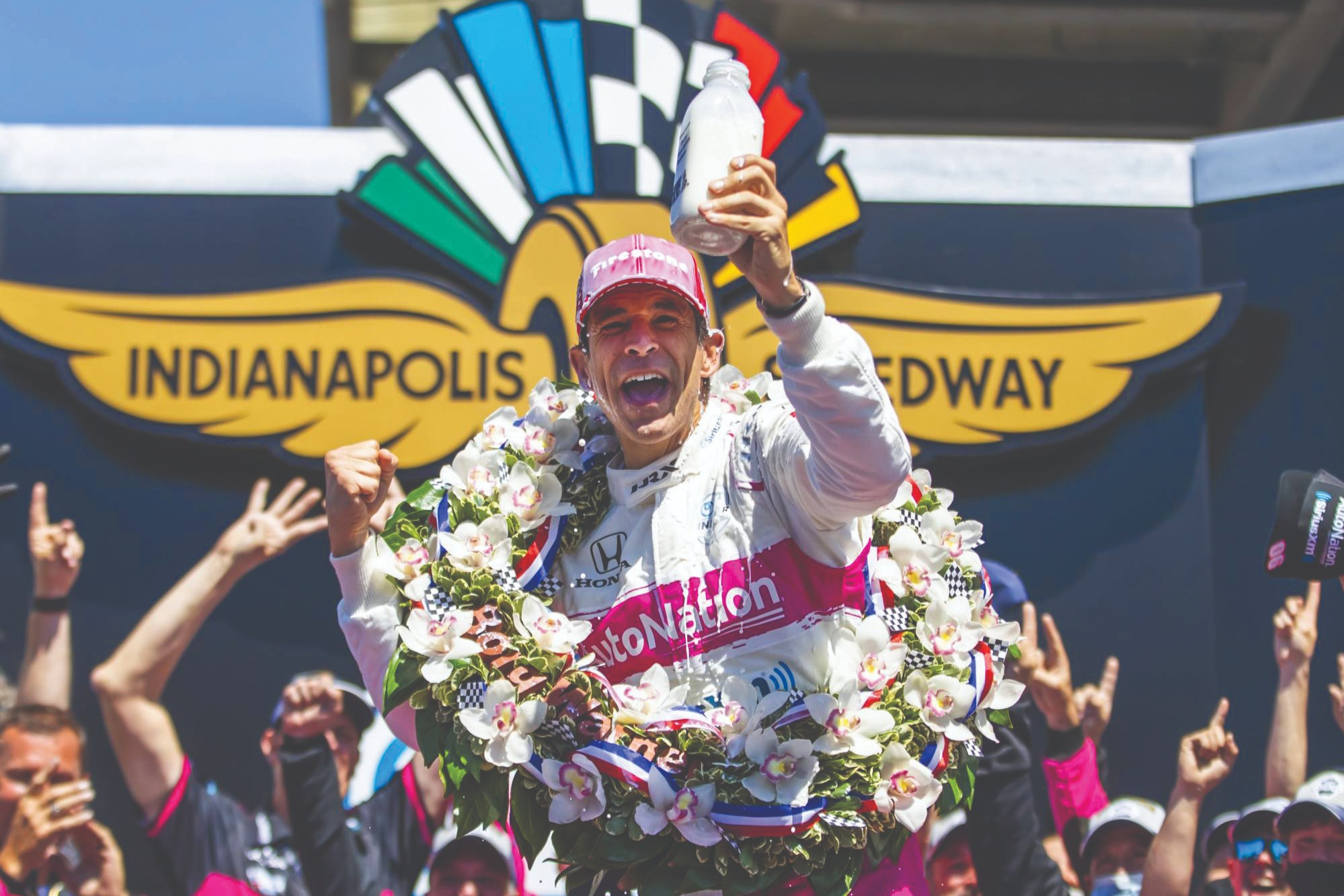 HRX helped lay groundwork for Castroneves' fourth Indy 500 win four months earlier