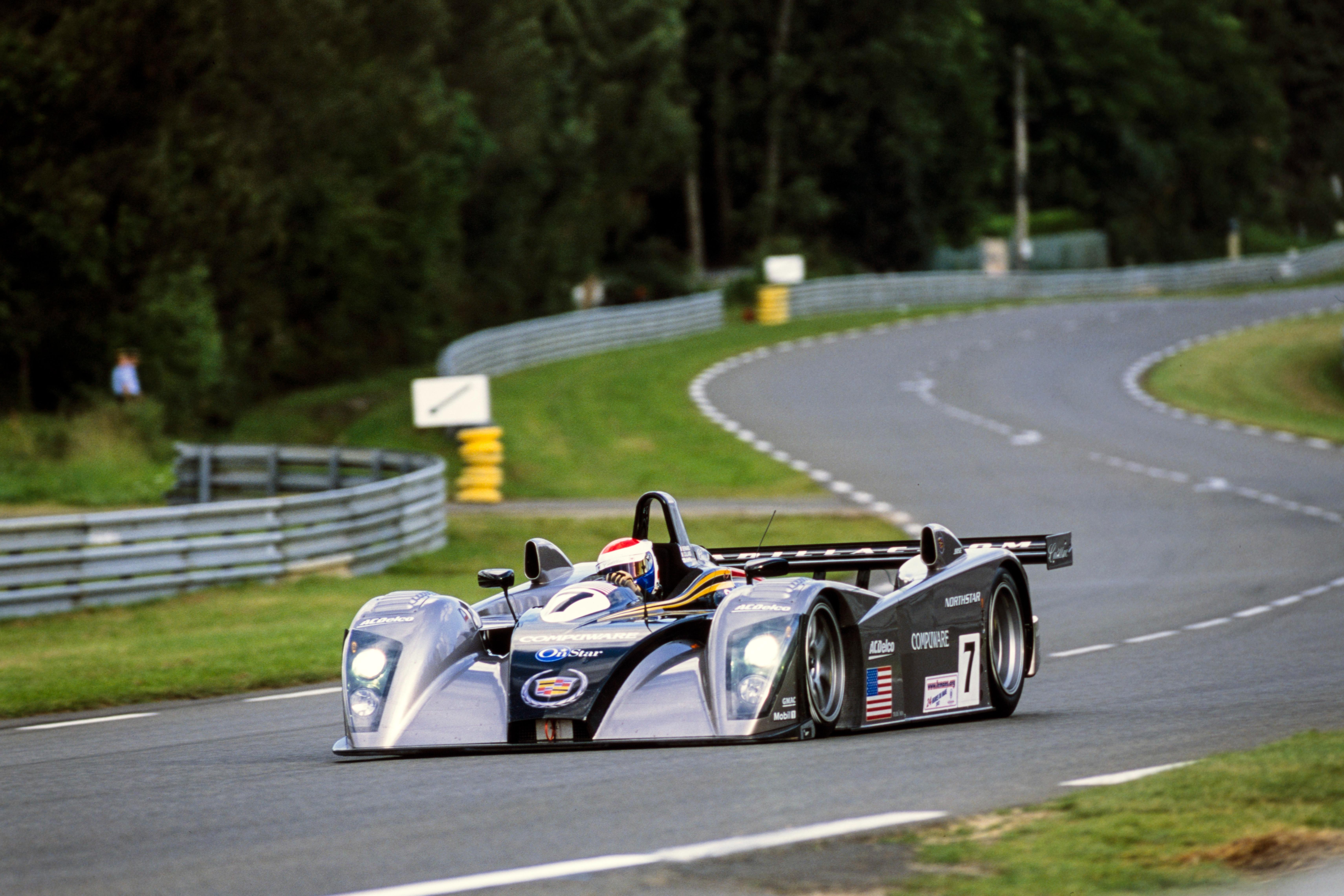 Emmanuel Collard / Eric Bernard / JJ Lehto, Team Cadillac, Cadillac Northstar LMP-02, 2002