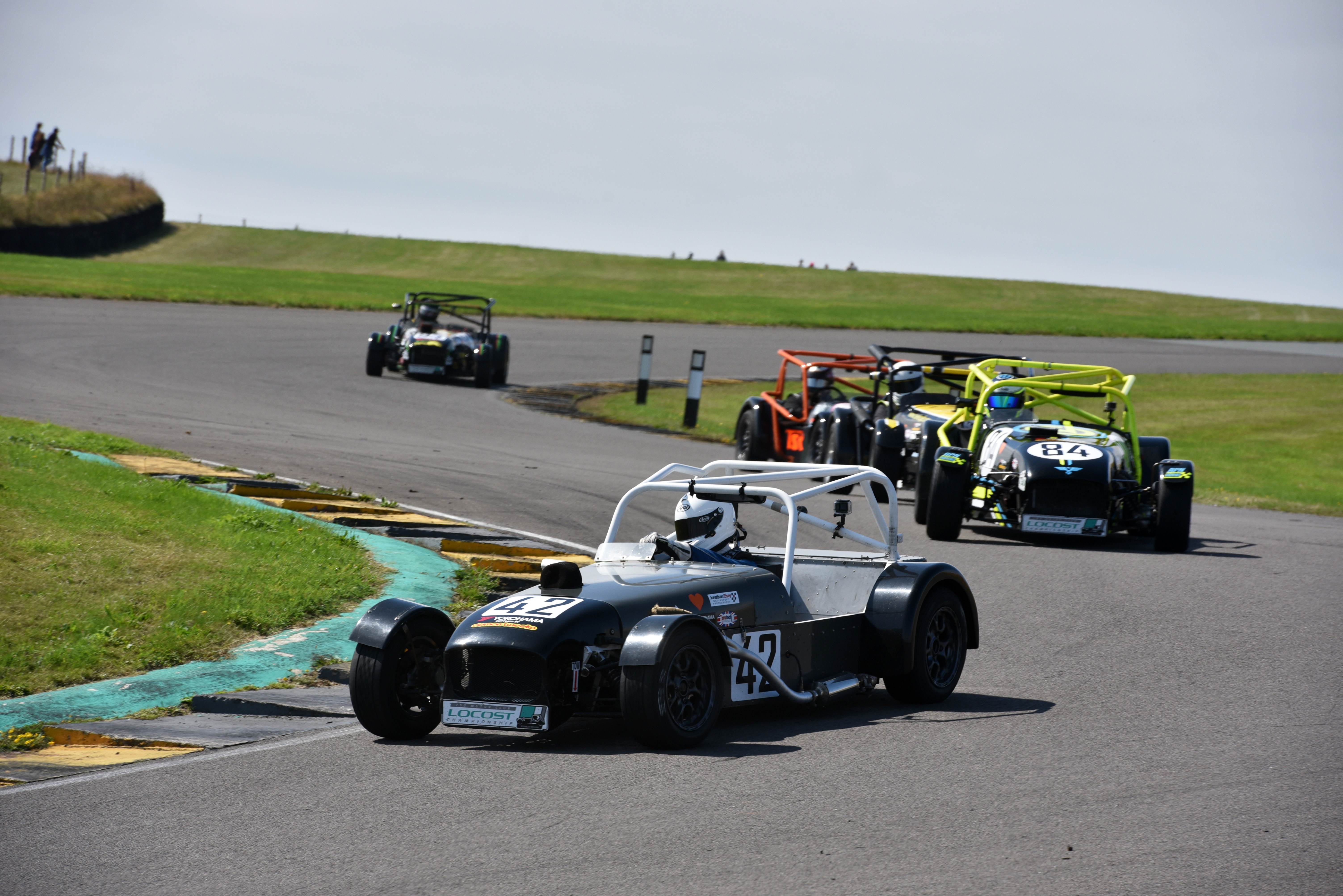 Andrew Tait was one of the Locost winners at Anglesey