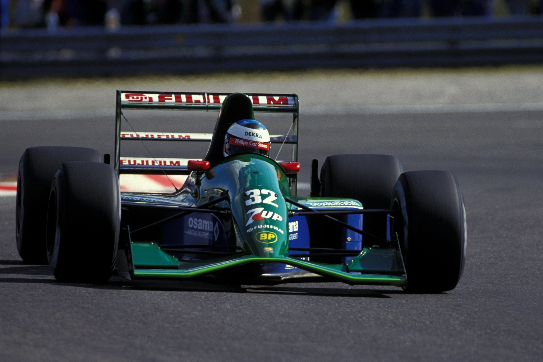 Schuamacher's race was short-lived, but his qualifying performance had set tongues wagging and created much interest in his signature