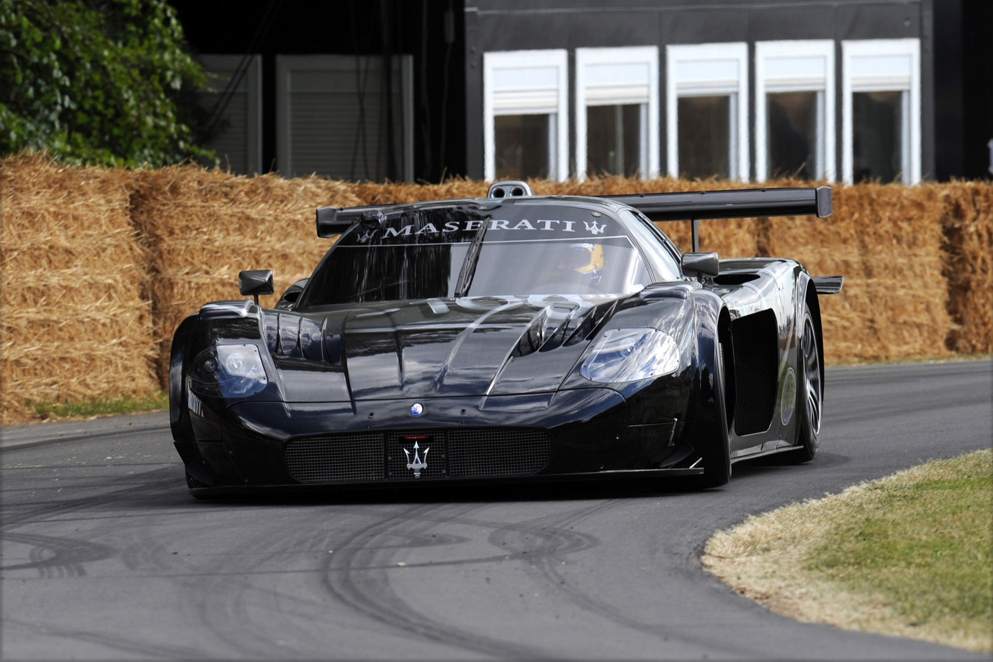 Bartels continues to provide customer support to MC12 owners, and thrashed one up the Goodwood hill in 2014