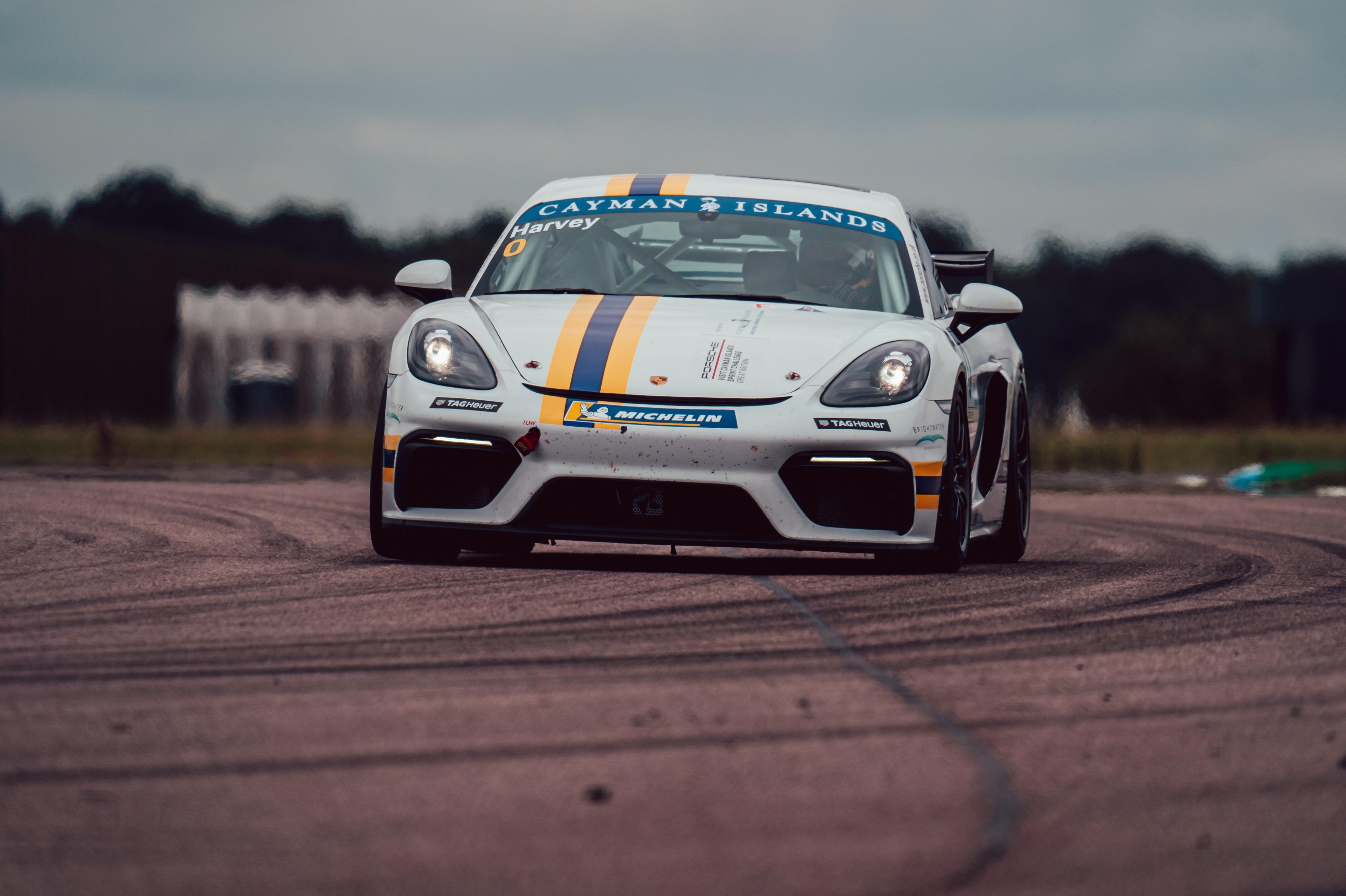 Tim Harvey, Porsche Sprint Challenge GB, Thruxton