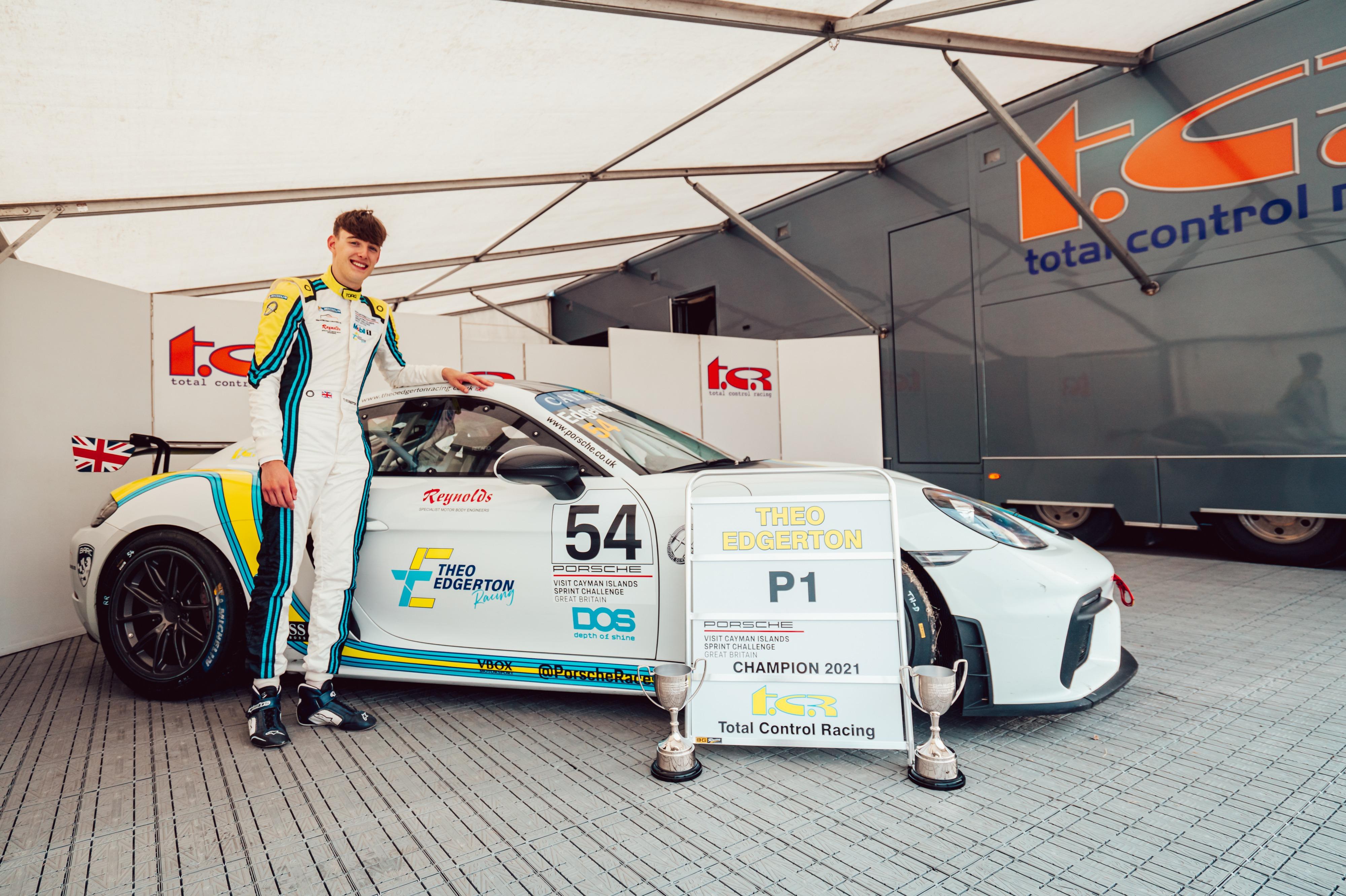 Theo Edgerton, Porsche Sprint Challenge GB, Thruxton 2021