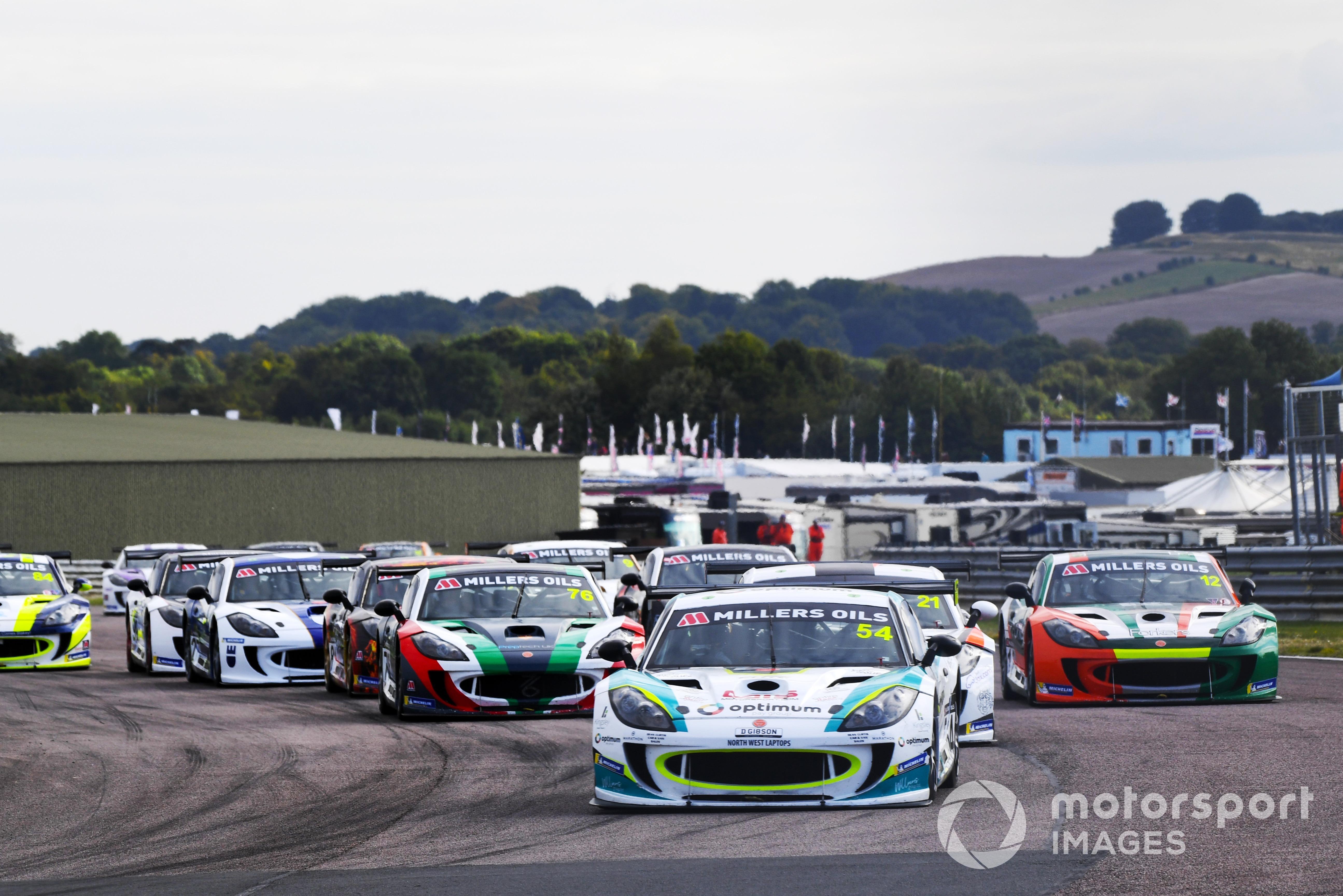 Adam Smalley, Ginetta GT4 Supercup, Thruxton 2021