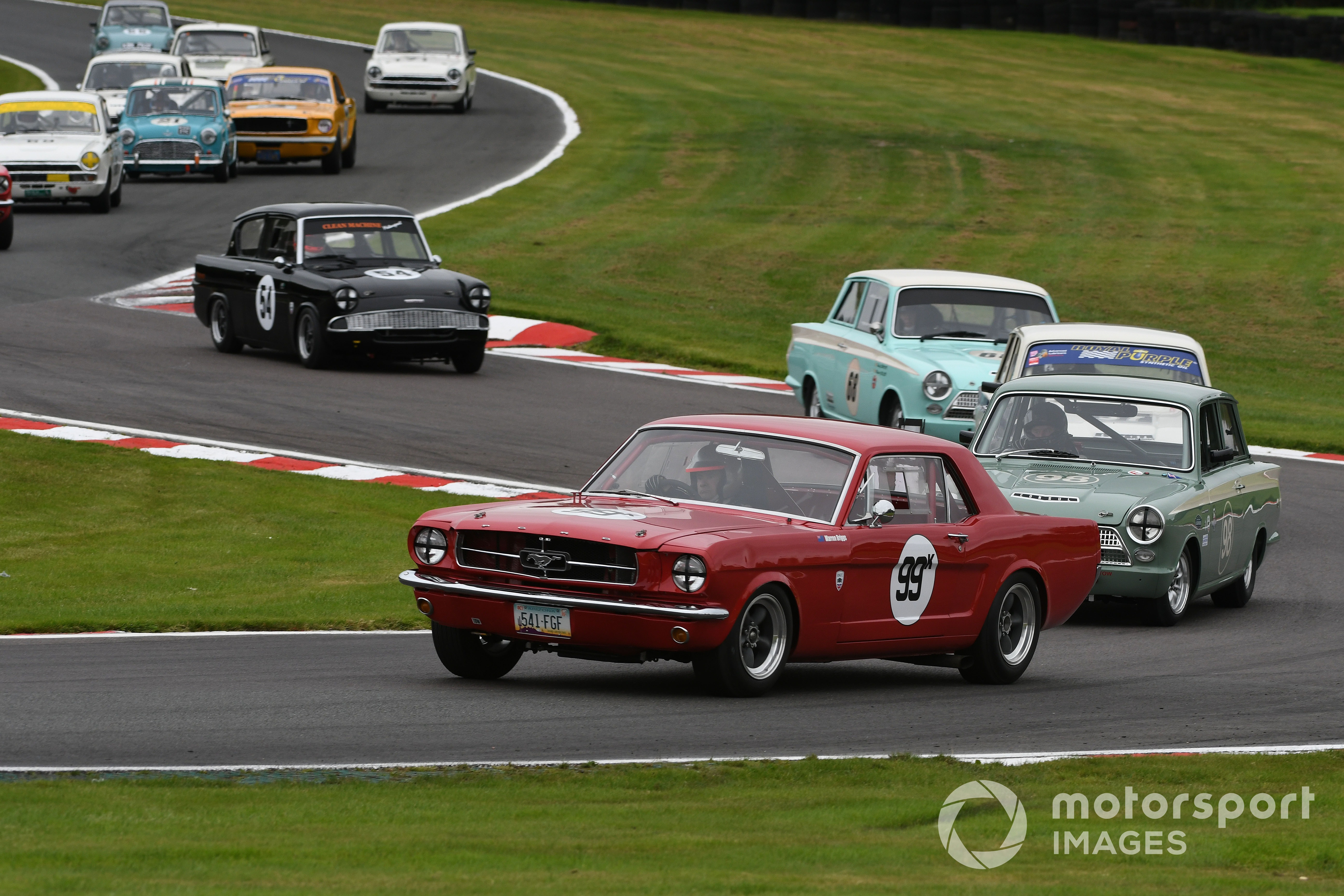 Warren Briggs (Ford Mustang), Oulton Park Gold Cup 2021