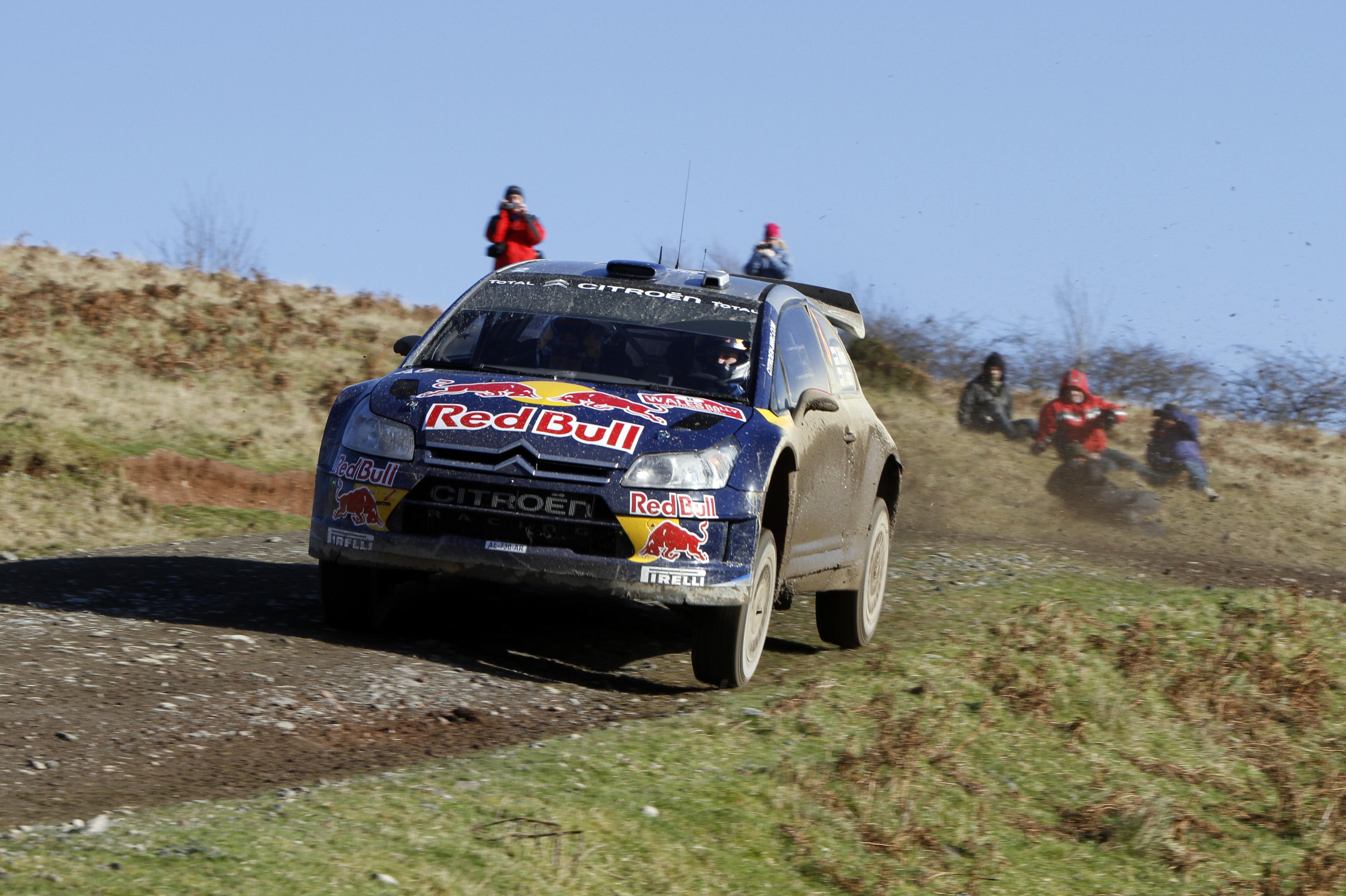 Kimi Raikkonen, Rally GB 2010
