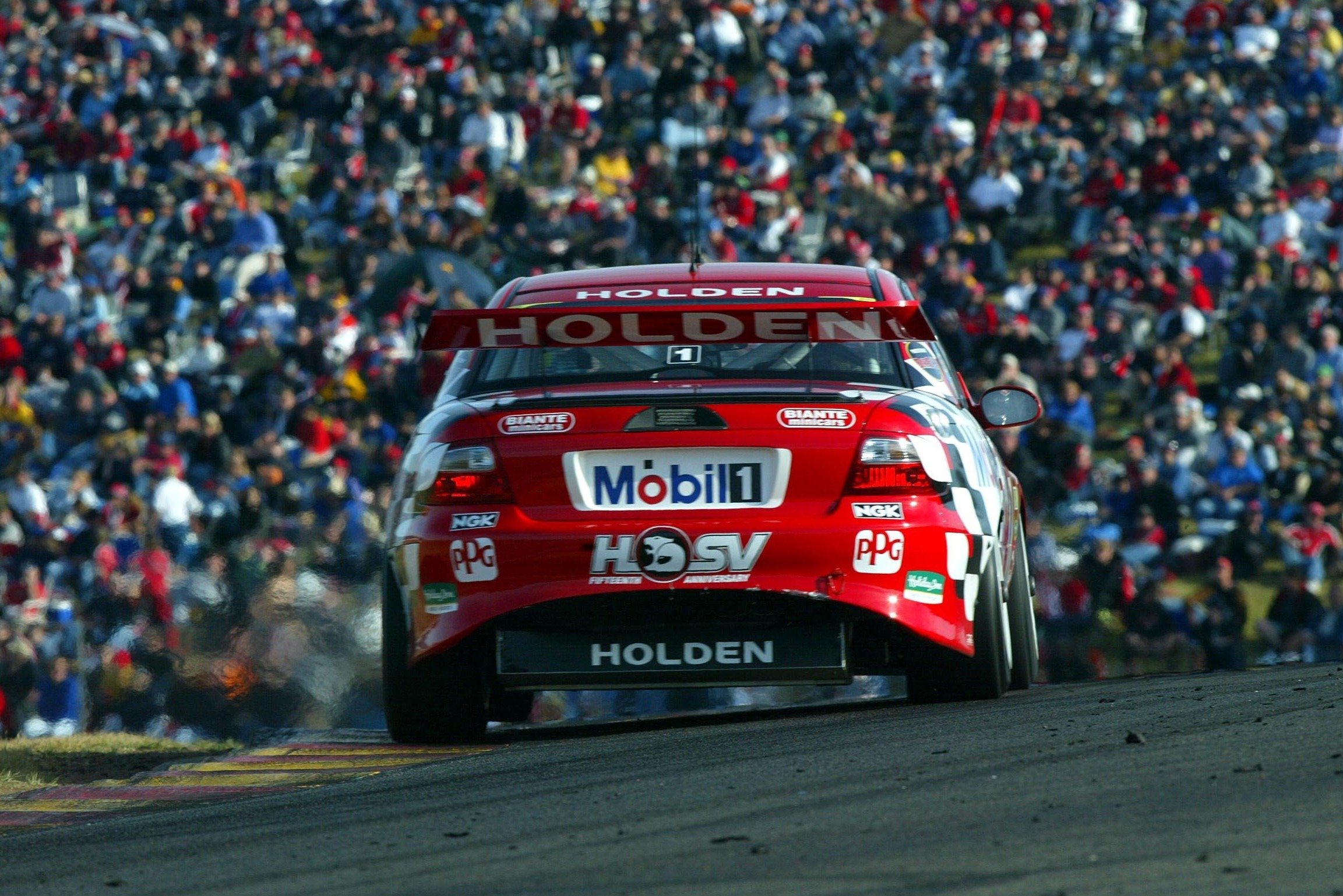 Mark Skaife, Holden Racing Team, Oran Park 2002