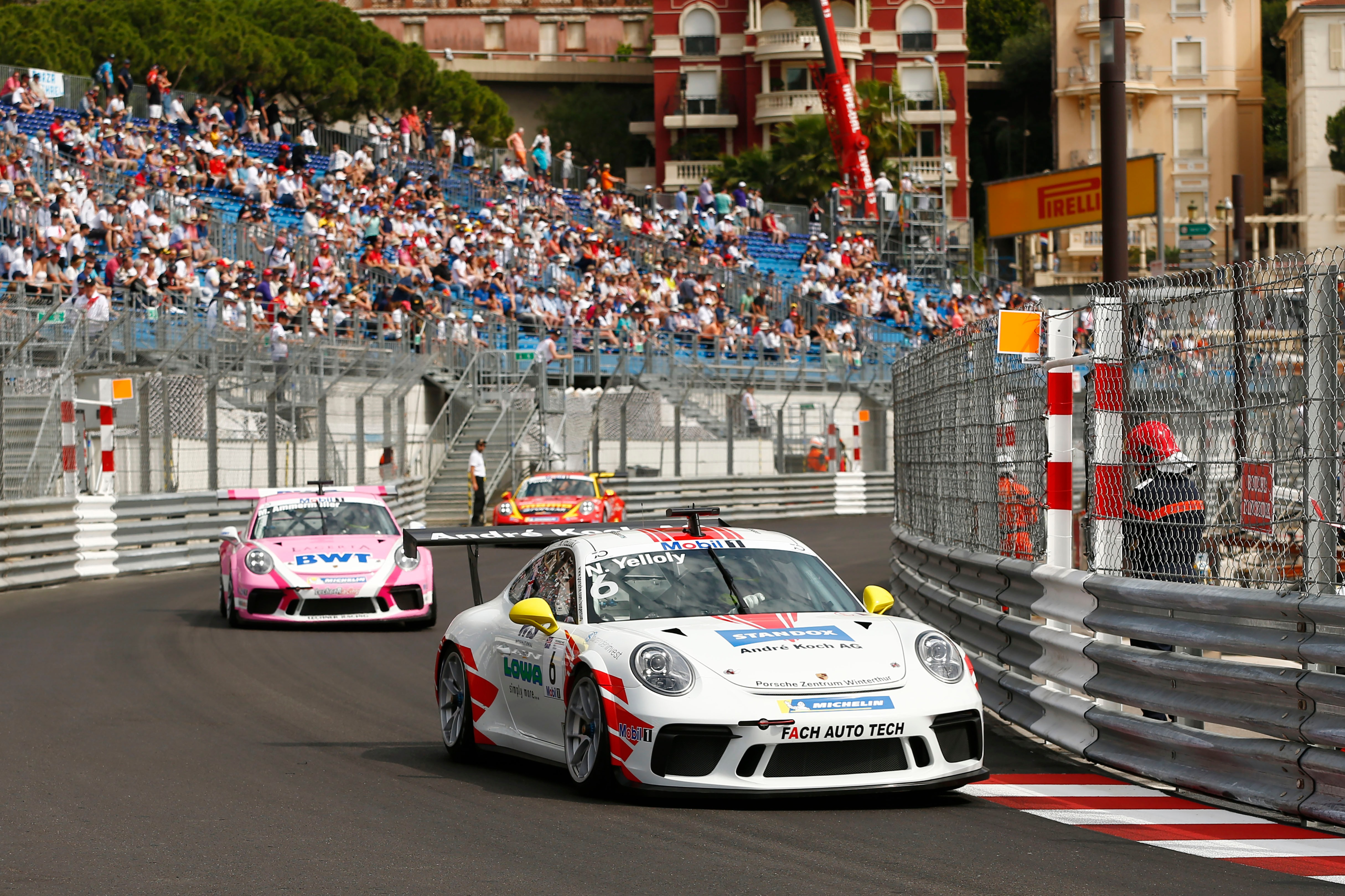 Victory at Monaco in the 2018 Supercup race helped clinch BMW factory deal in GT3 racing