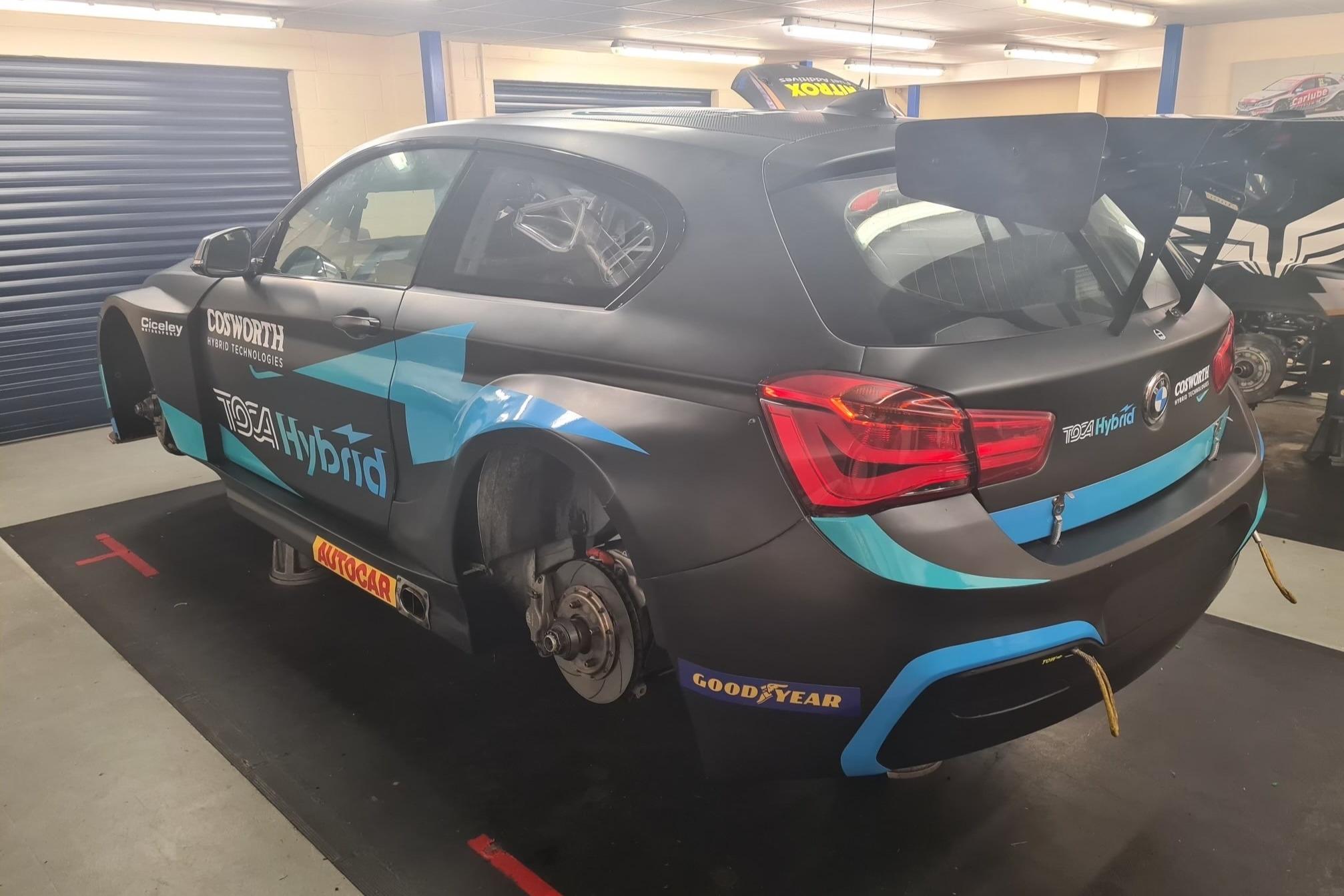 Ciceley's hybrid-powered BMW 125i M Sport BTCC machine