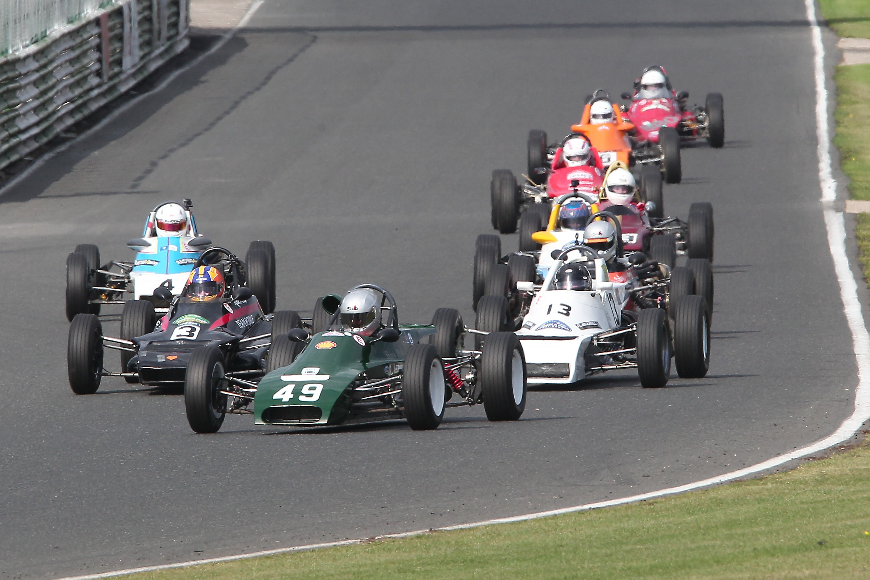 Jordan Harrison (Lola T540E), Classic FF1600, Mallory Park 2021