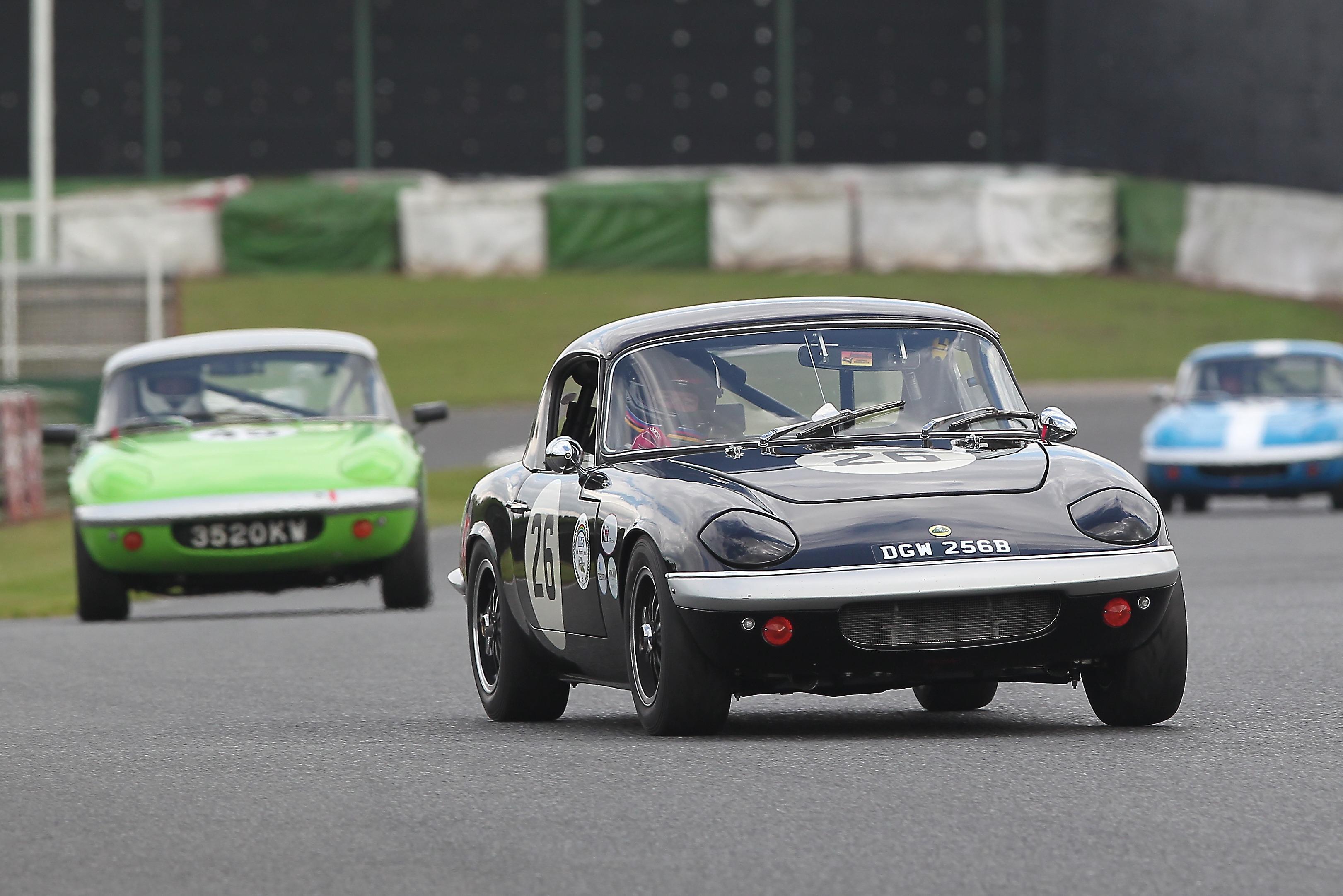 John Davison (Lotus Elan S1), Mallory Park 2021