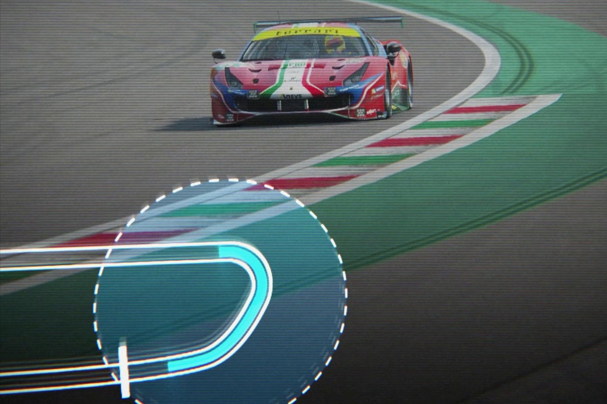 Curva Alboreto yang sebelumya bernama Parabolica, menjadi salah satu tantangan menarik bagi para pembalap di Sirkuit Monza, Italia.