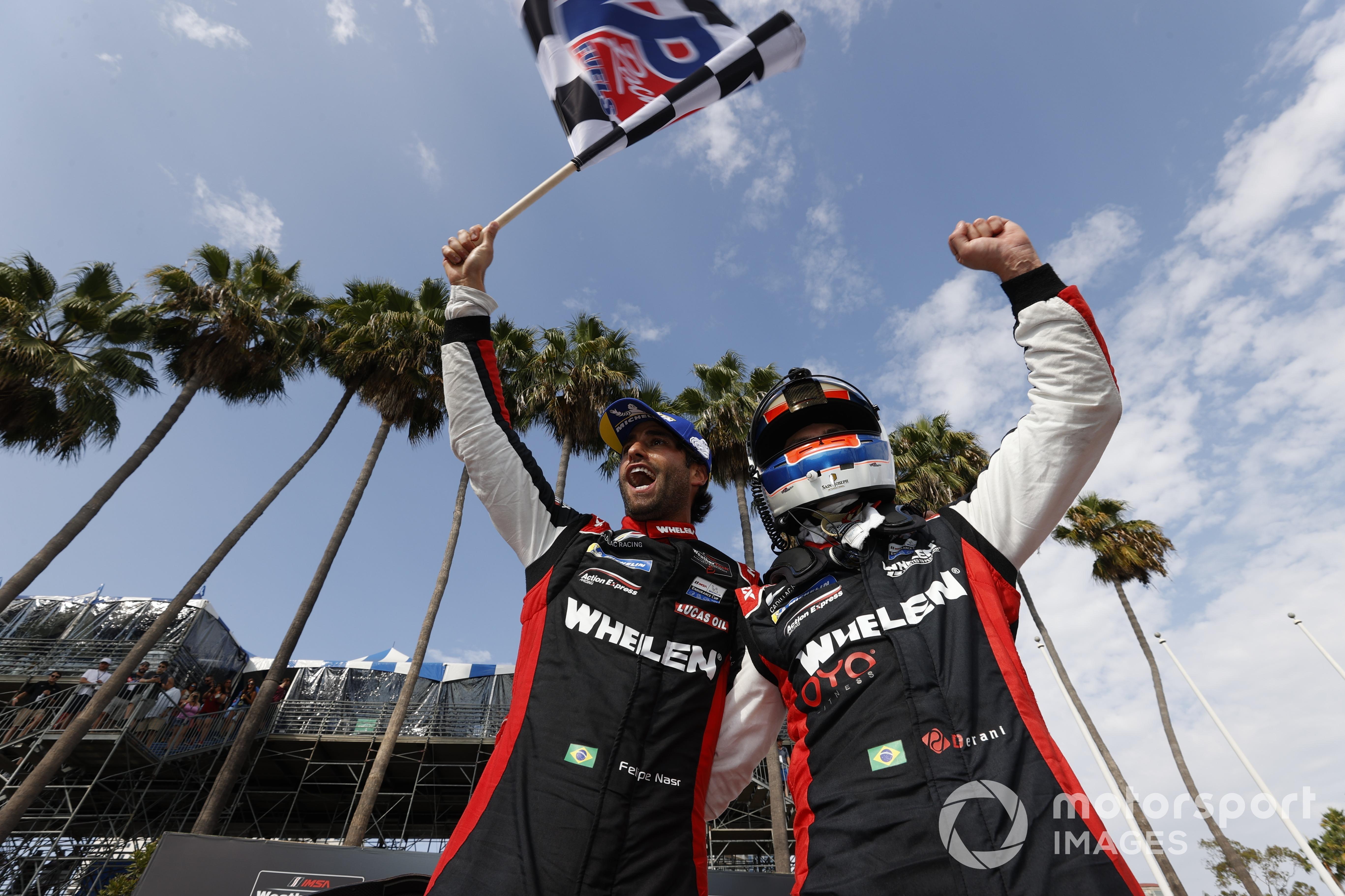 Felipe Nasr/Pipo Derani (Cadillac DPi-V.R) IMSA Sportscar Championship, Long Beach 2021